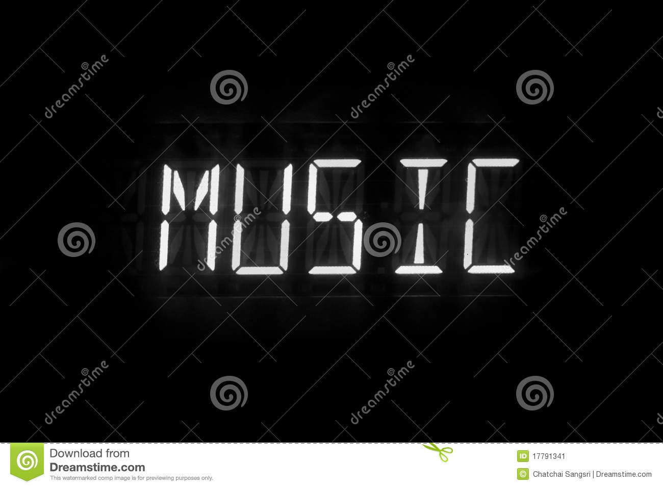 Download Music text digital stock image. Image of message, text - 17791341