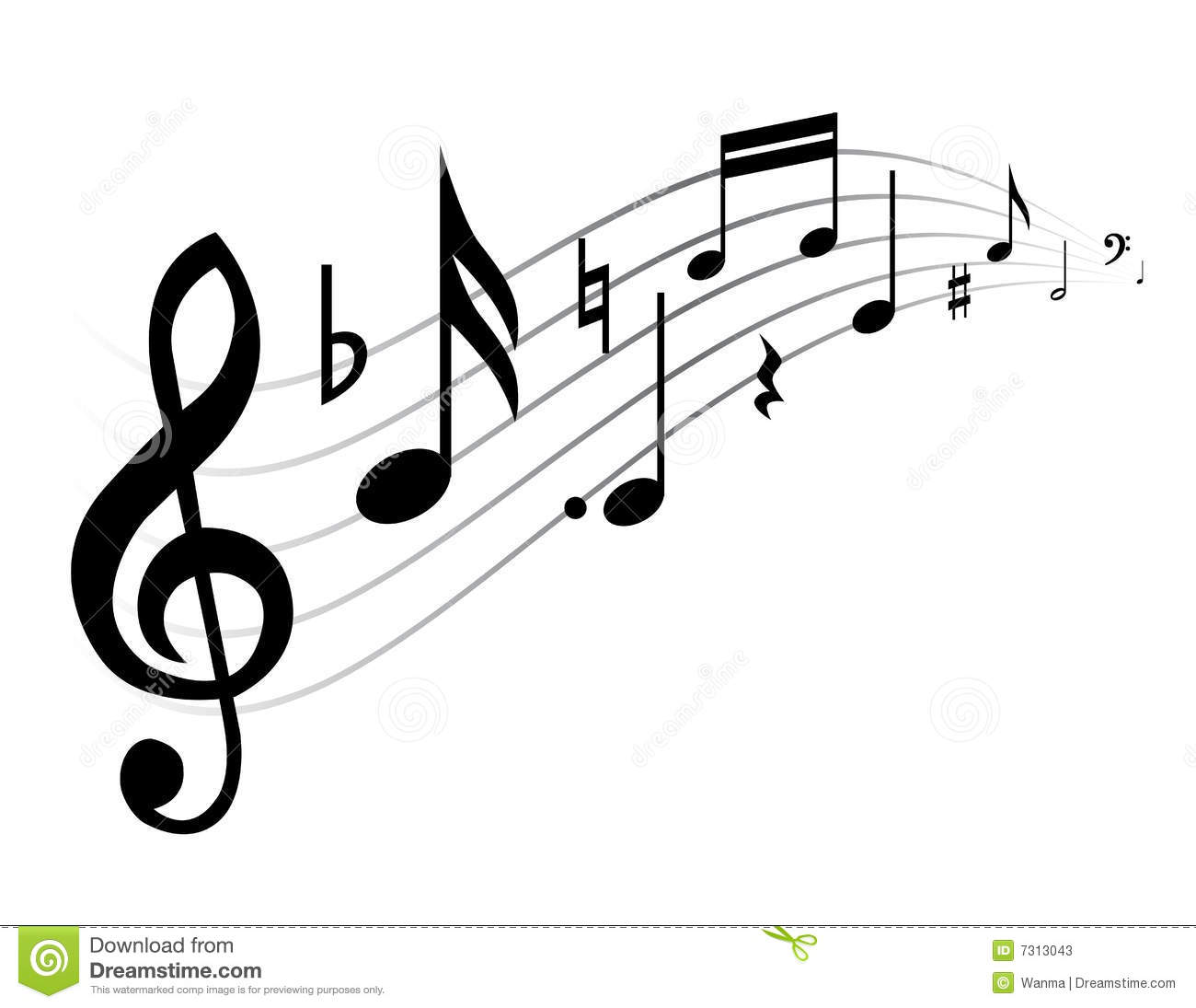 Music Theme Stock Photos Image 7313043