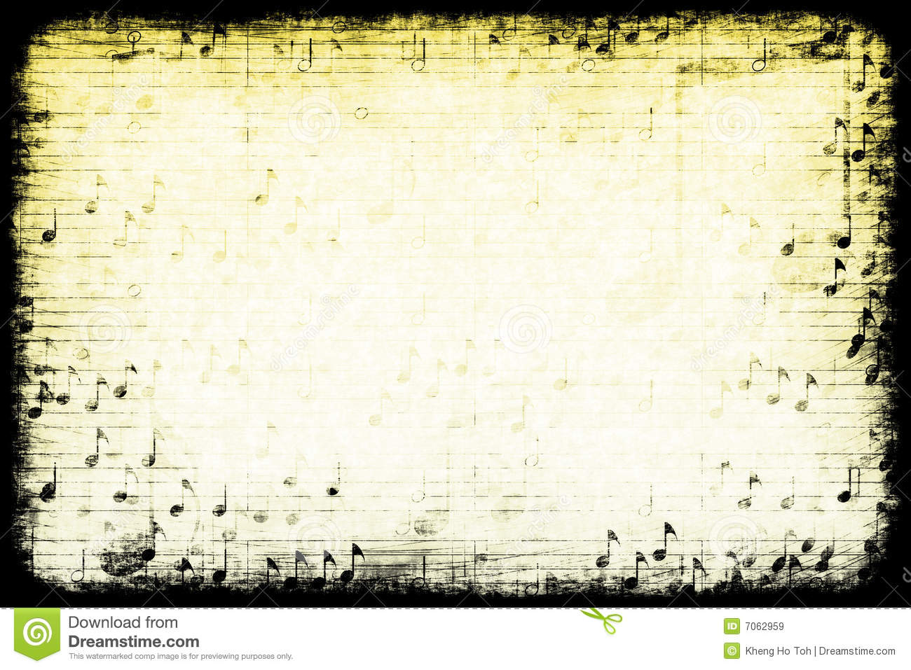 Music Themed Abstract Grunge Background Royalty Free Stock Images ...