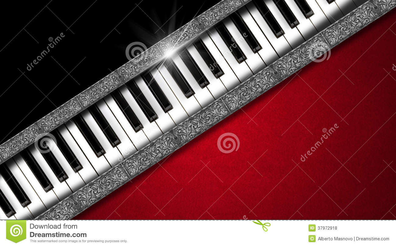 Music vintage business card stock illustration image for Music business card background