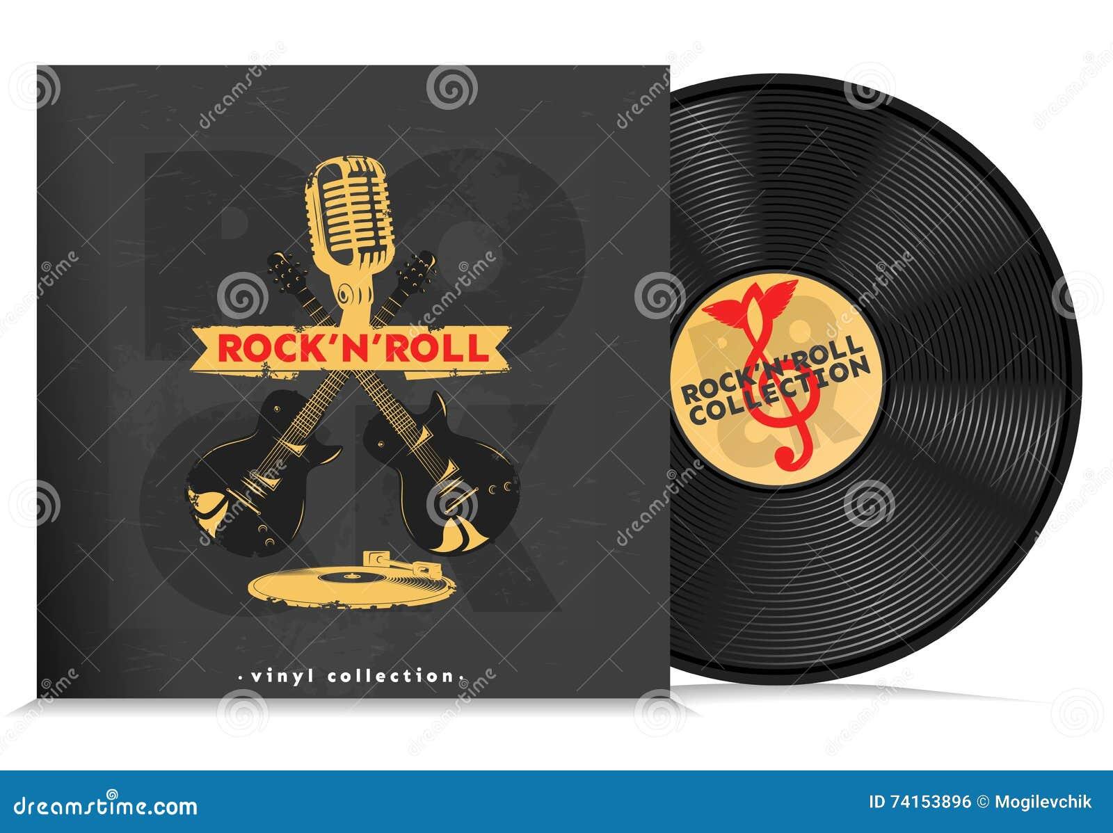 Music Vinyl Disc Composition