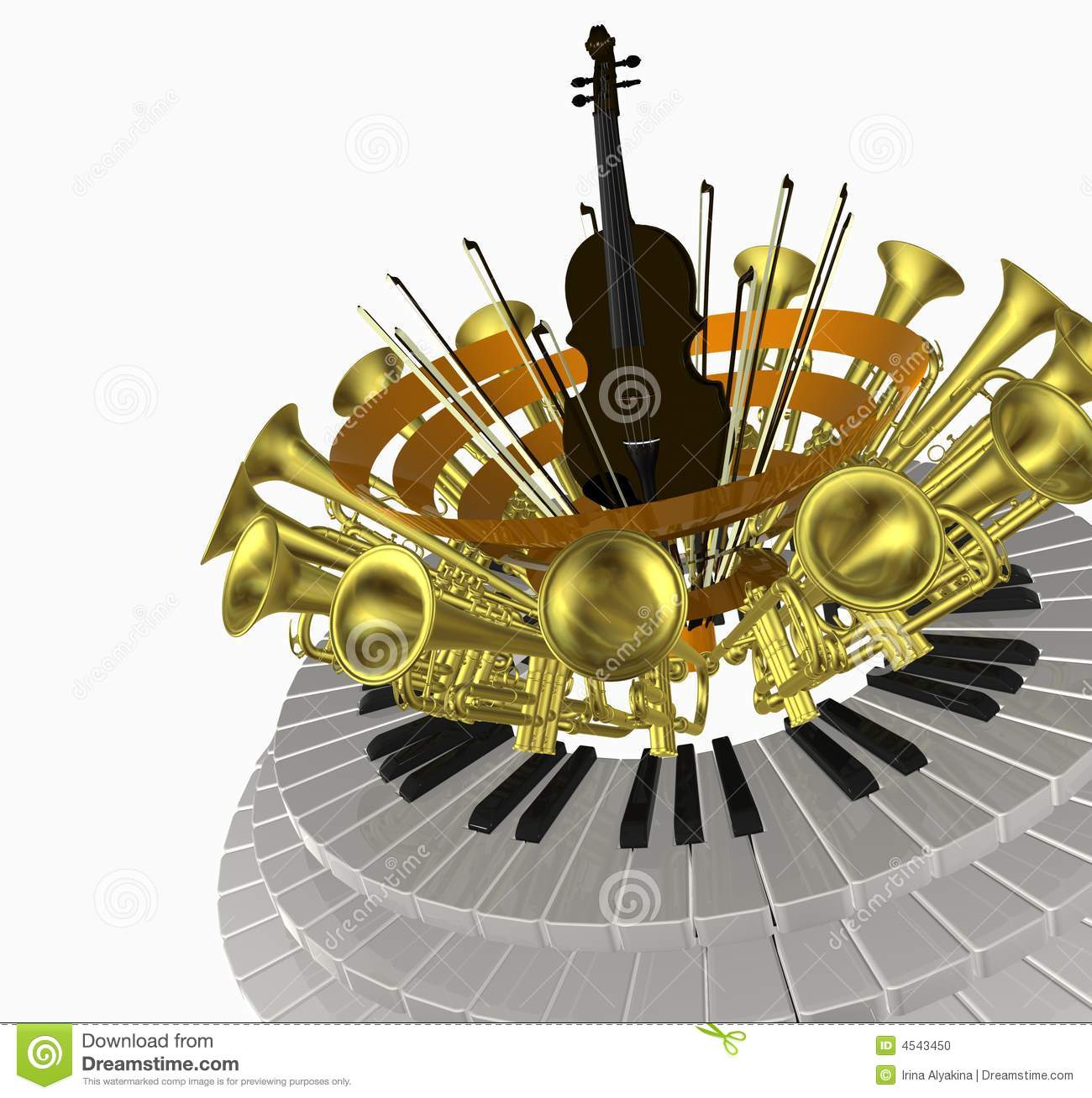 Music violin one