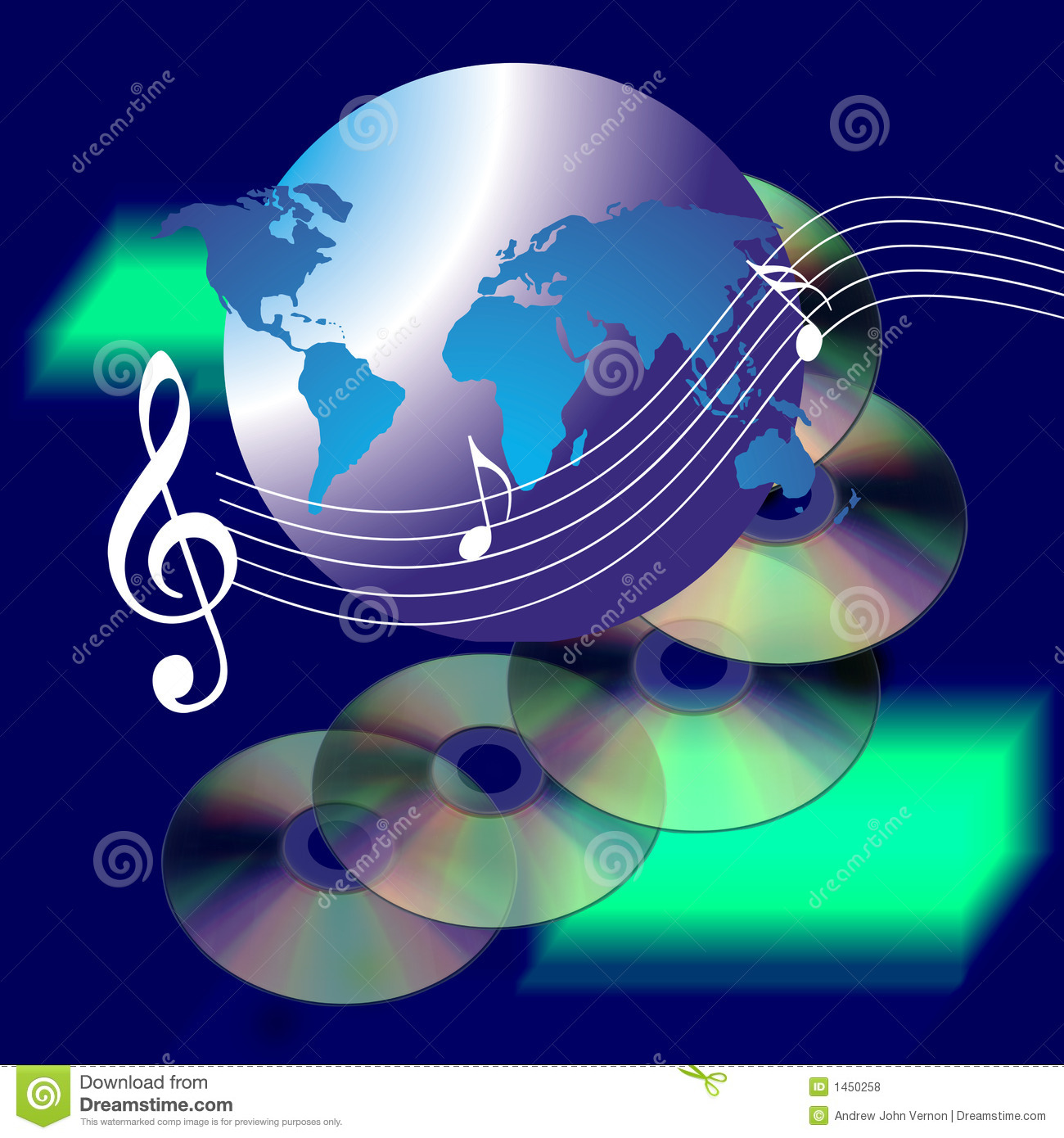 music cd internet notes background musical drawing royalty