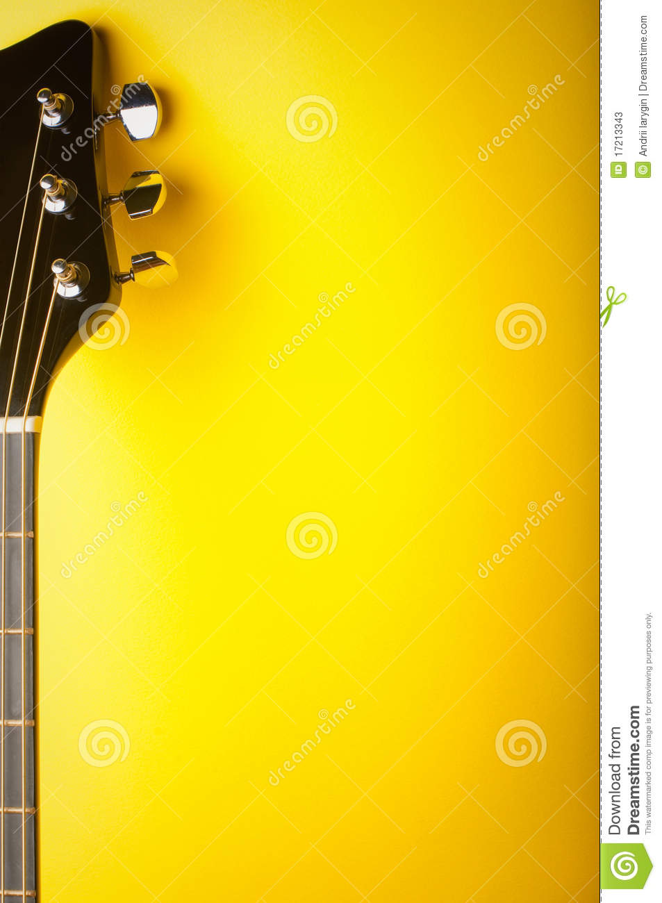 Music Yellow Background Stock Photos Image 17213343