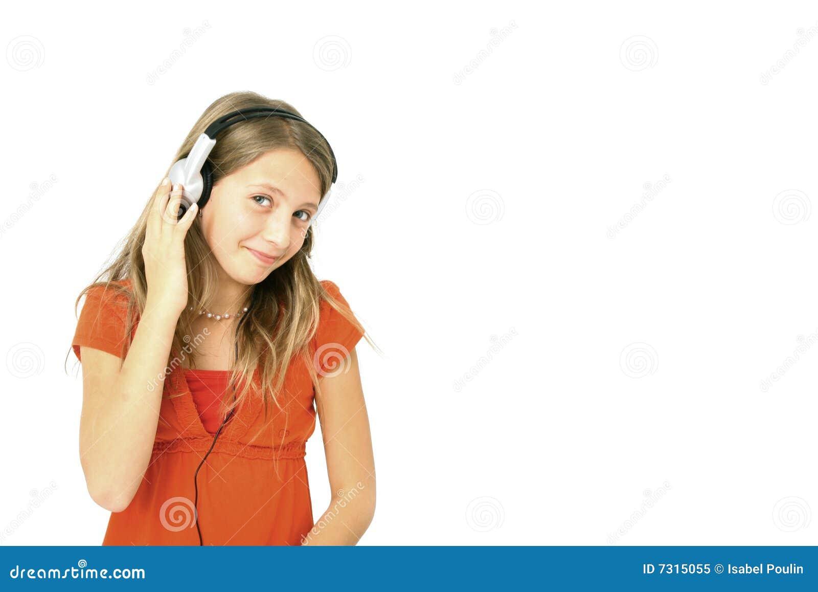 Musica d ascolto della ragazza