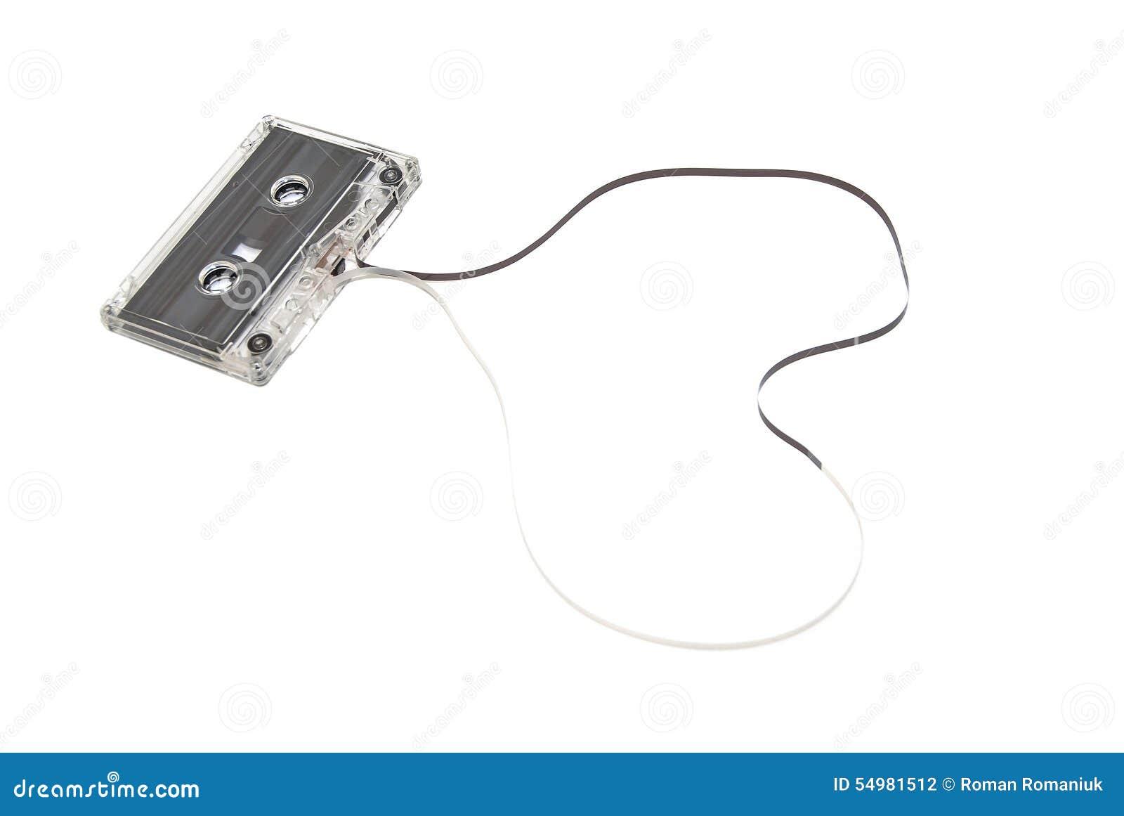 Musica della cassetta audio isolata