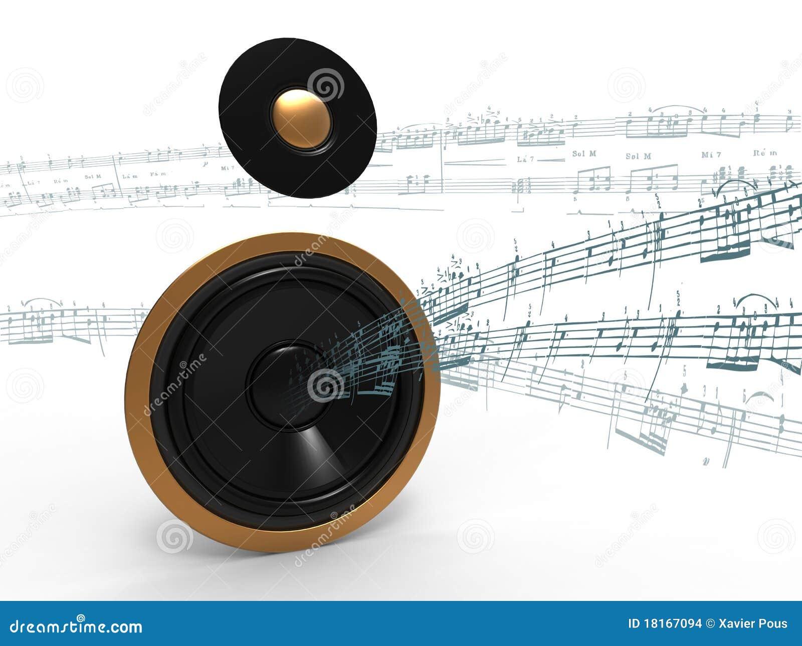 Musica sull altoparlante