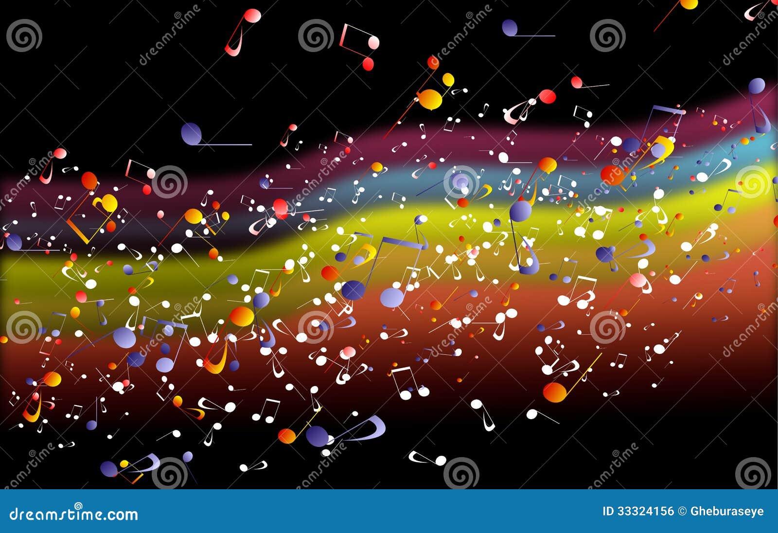 Musical Background Royalty Free Stock Image - Image: 33324156