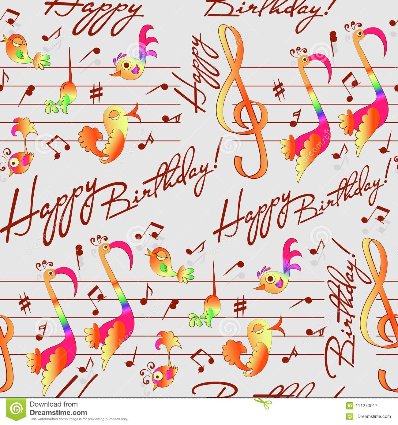 Musical Congratulations On Your Birthday