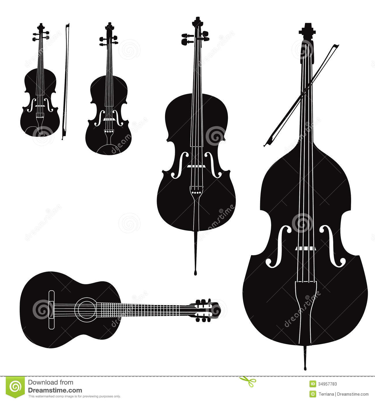 Musical Instrument Collection Stock Photos Image 34957783