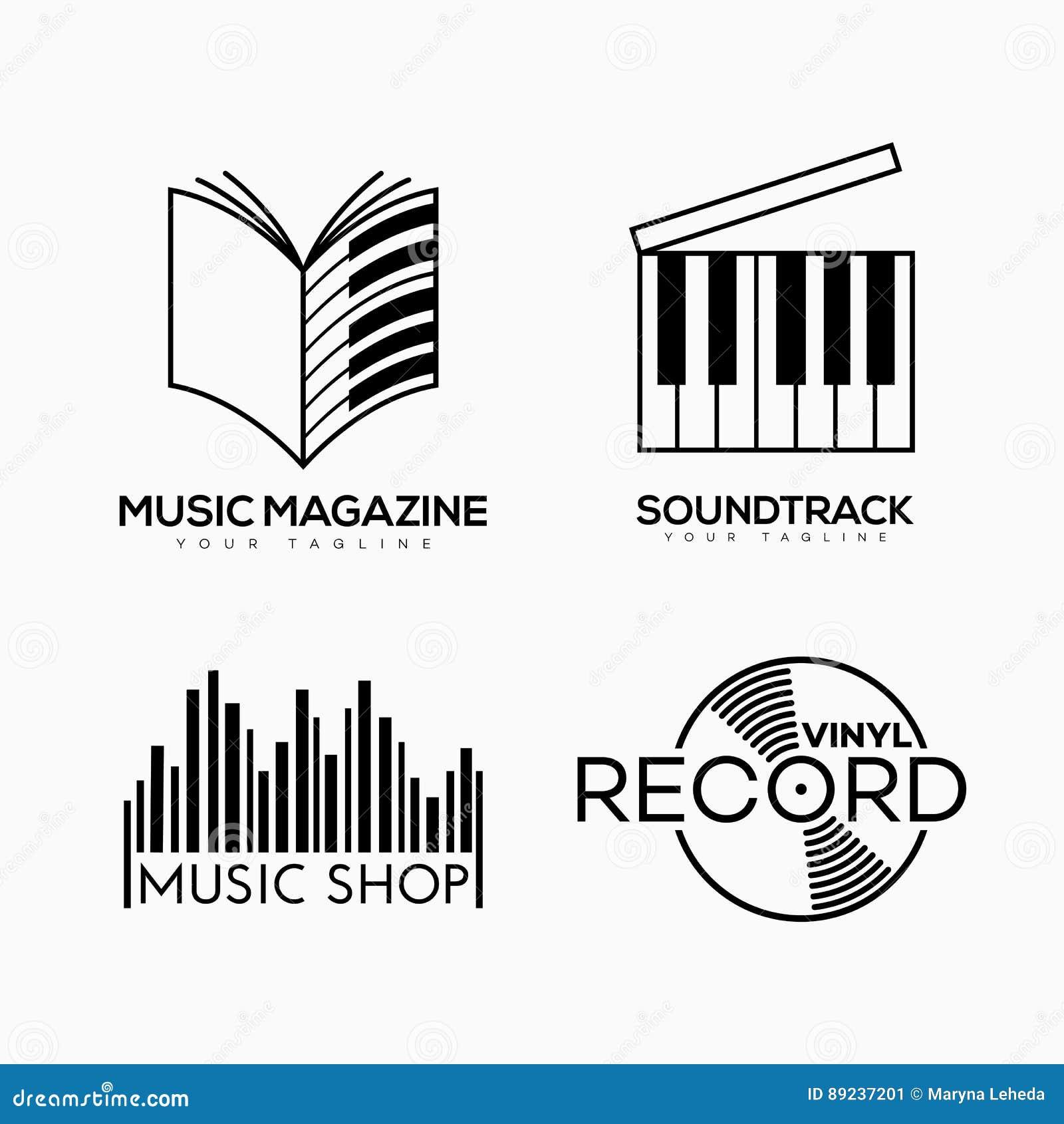 Musical Logo Stock Vector Illustration Of Barcode Audio 89237201