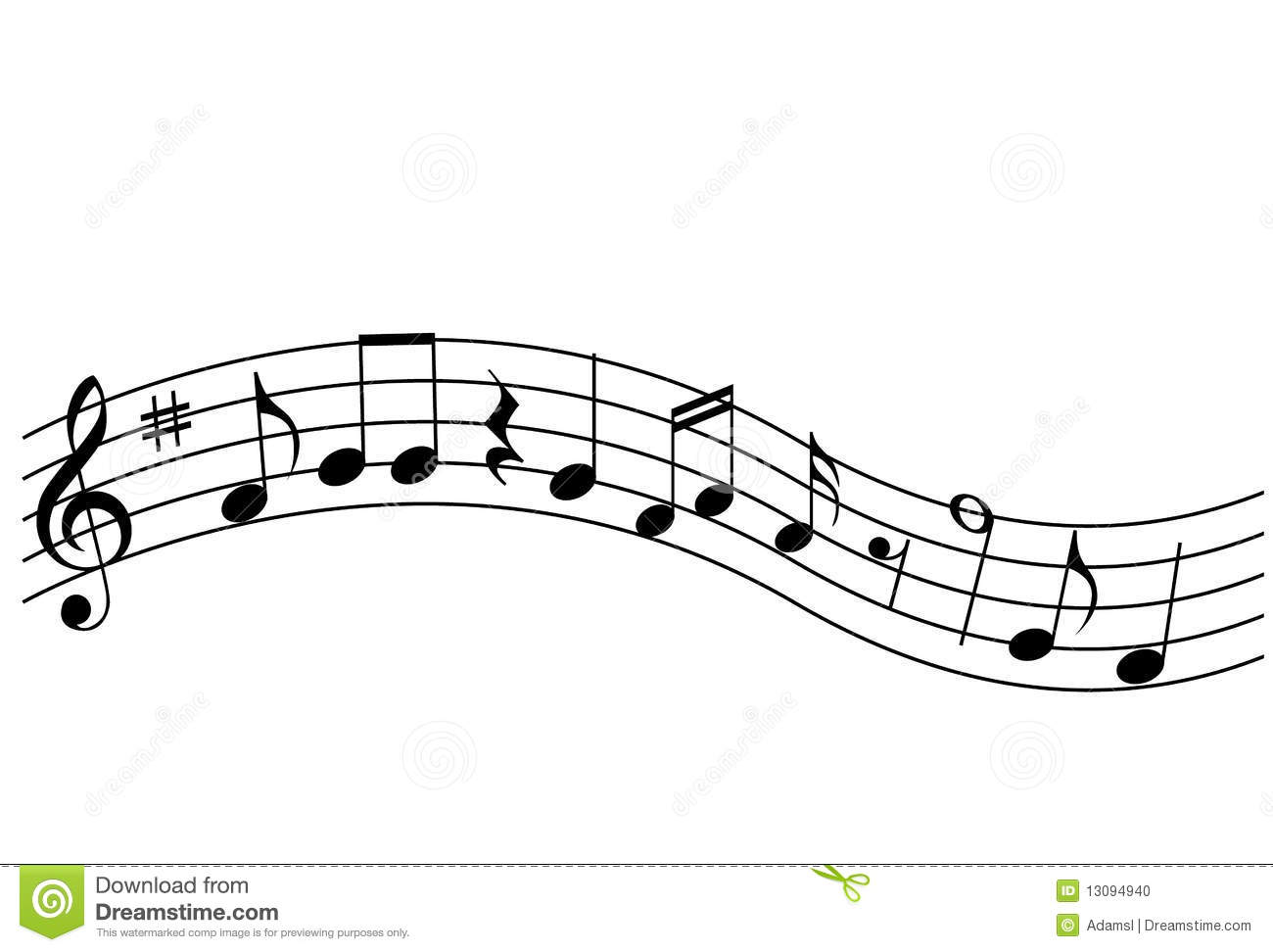 music notes by areoottat - photo #17