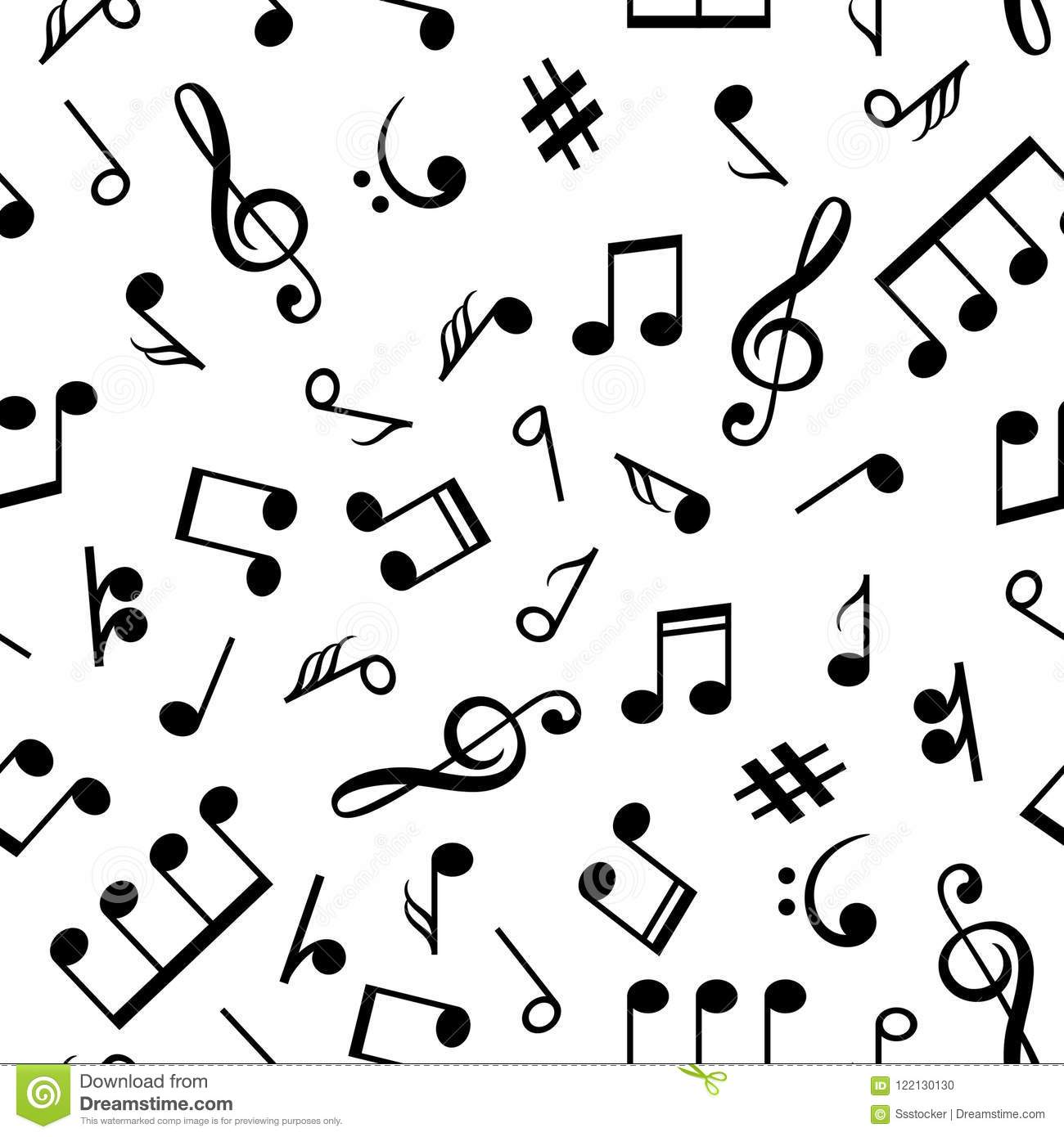 Music Note Pattern Awesome Inspiration Design