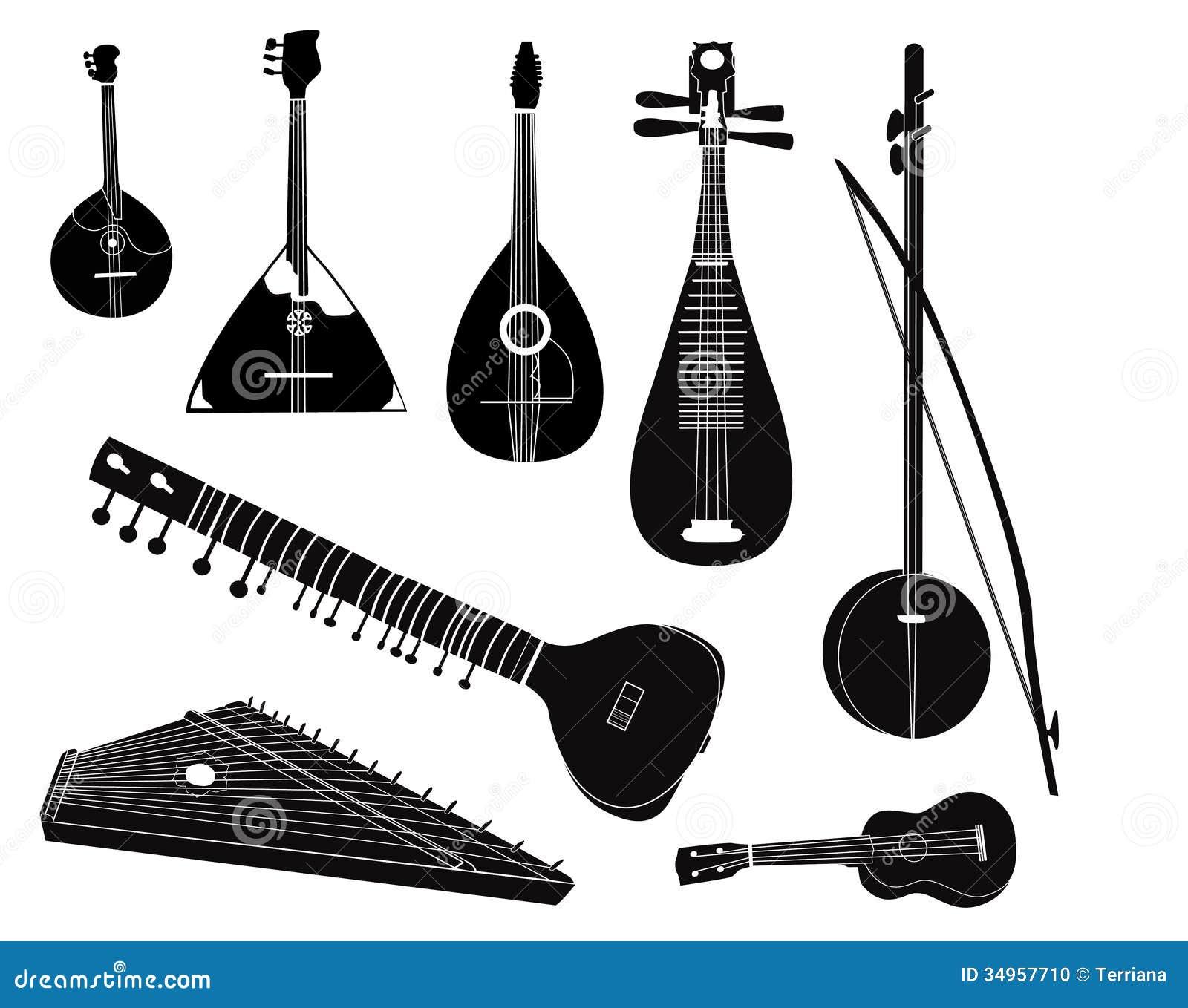 картинки музыкальных инструментов треугольник