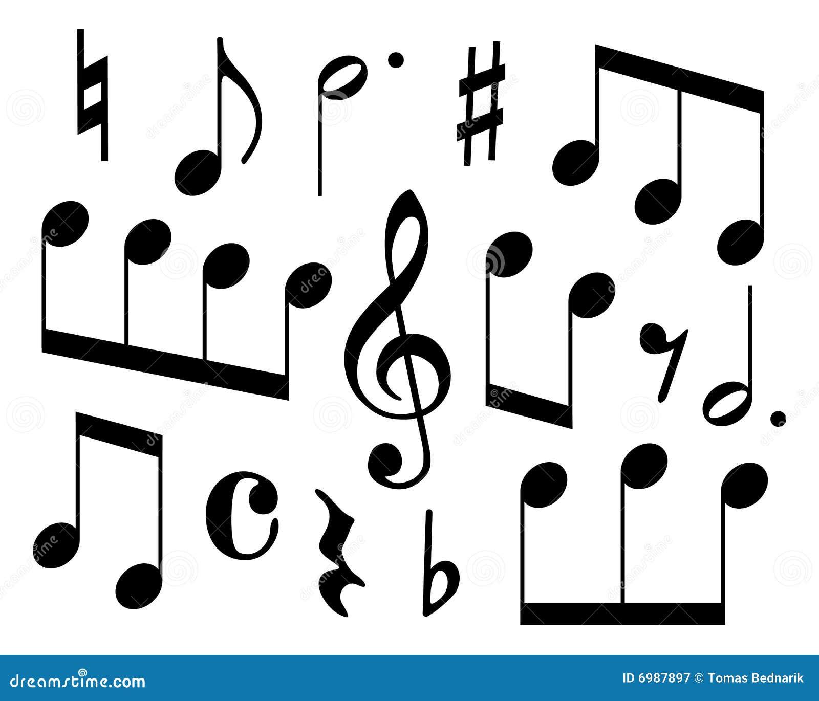 Musical Symbols Royalty Free Stock Photography Image 6987897