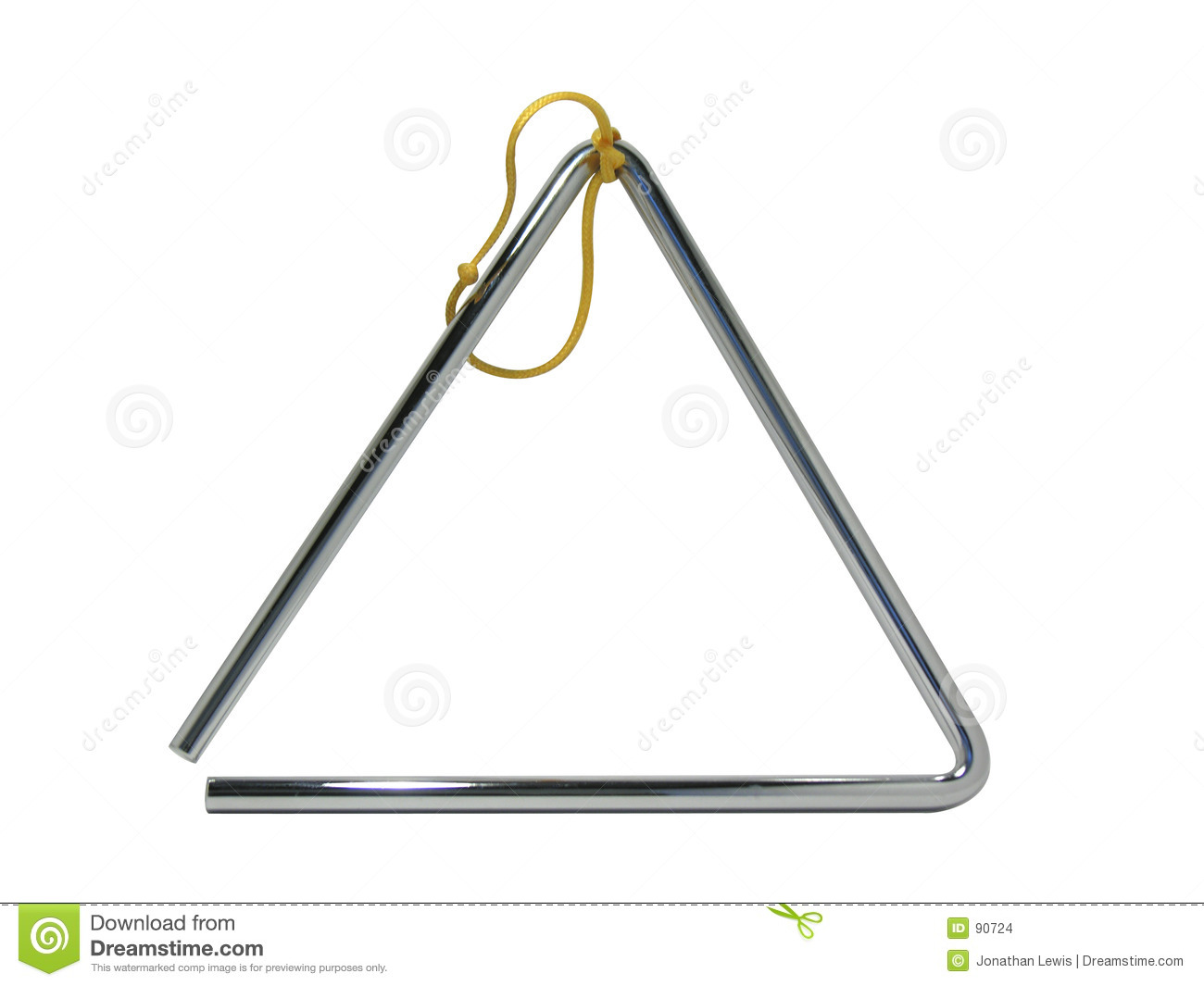 Musical Triangle Stock Images - Image: 90724