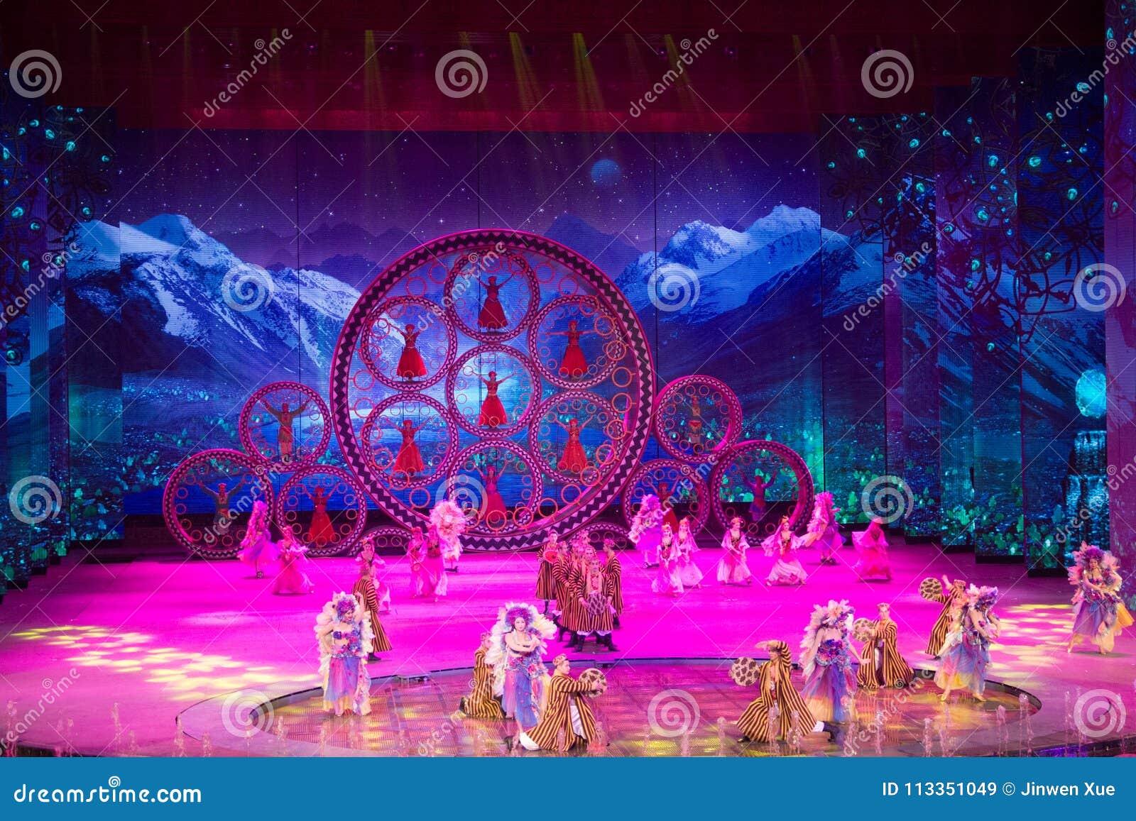 Musical, Uygur, de volta à Rota da Seda