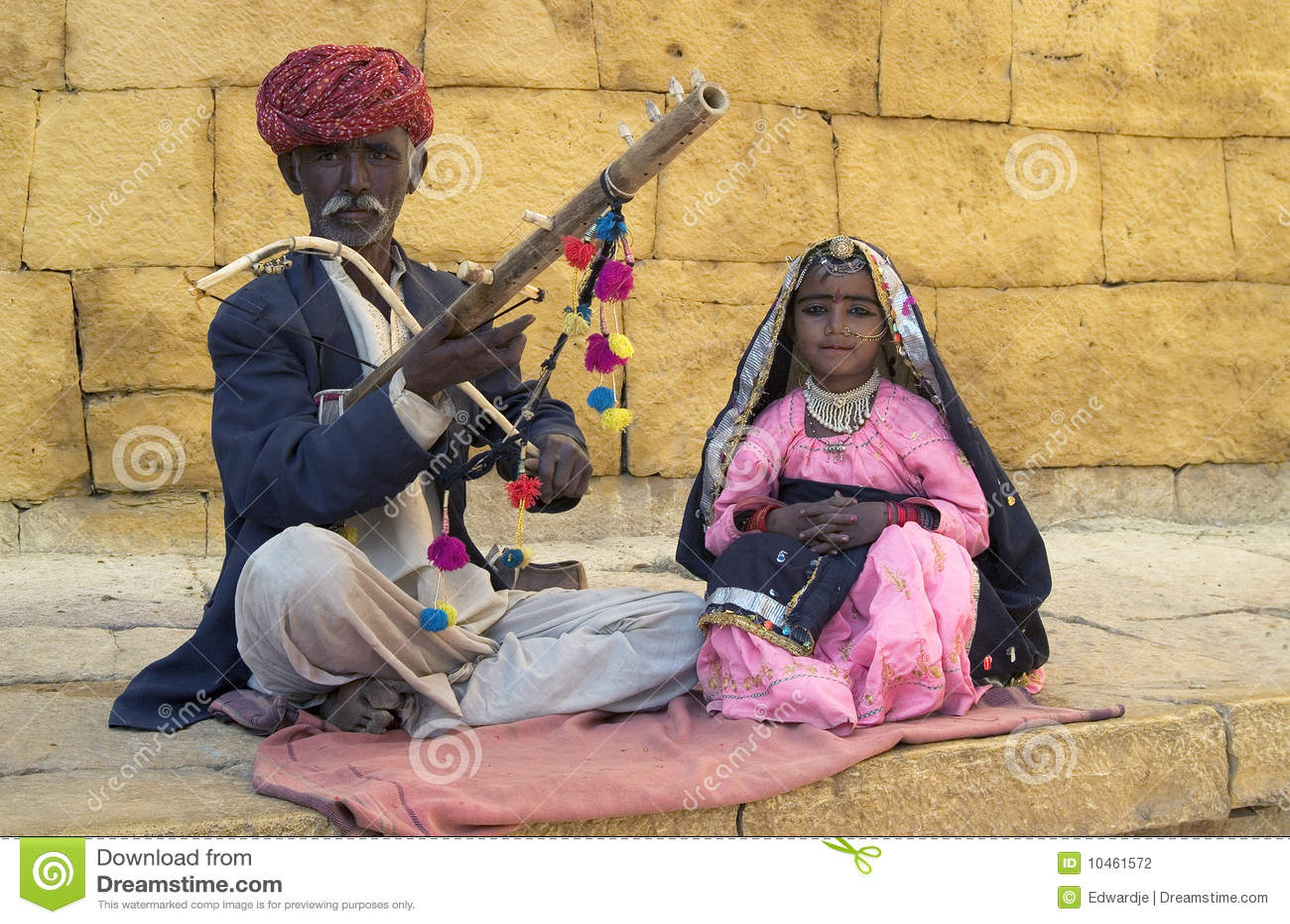 Musiciens de jaisalmer