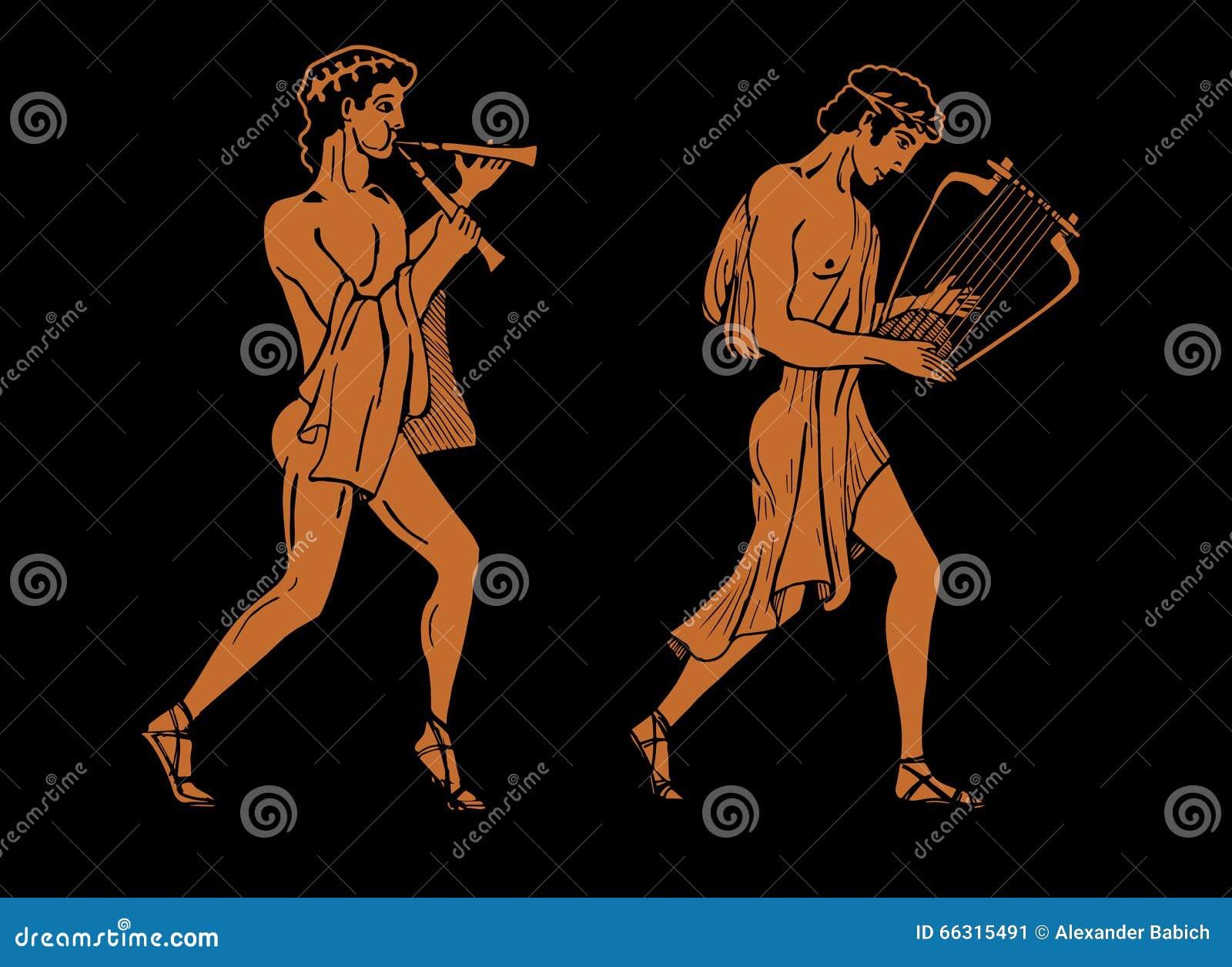Musiciens du grec ancien