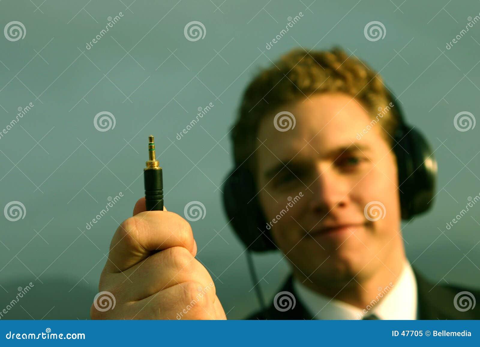 Musik in der Hand