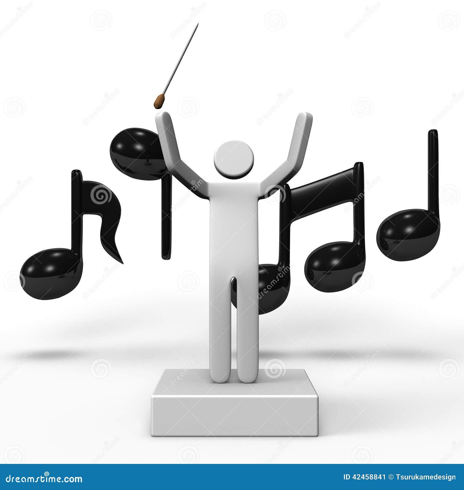 Musikalischer Leiter And Musical Note