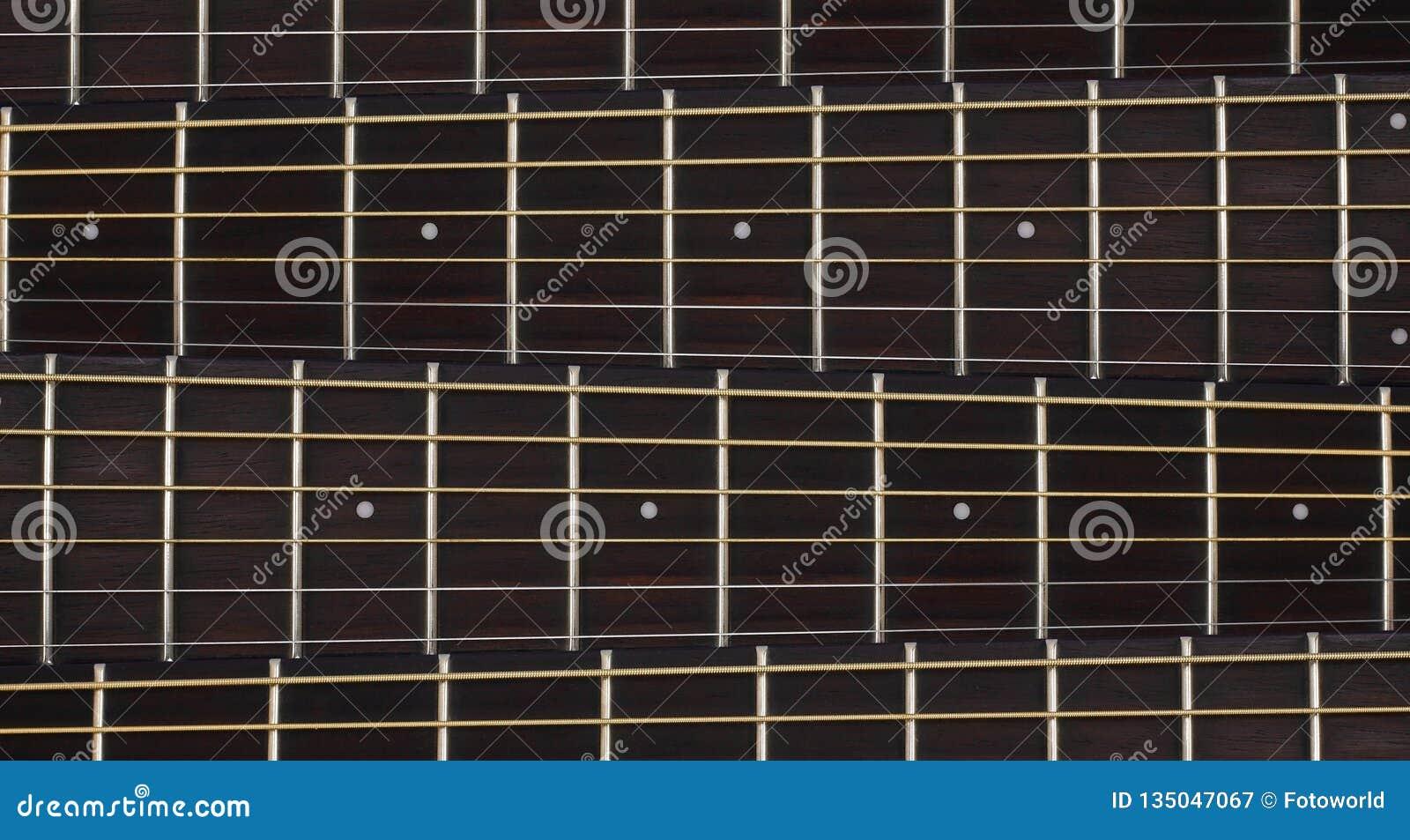 Musikinstrument - halsbakgrund för akustisk gitarr