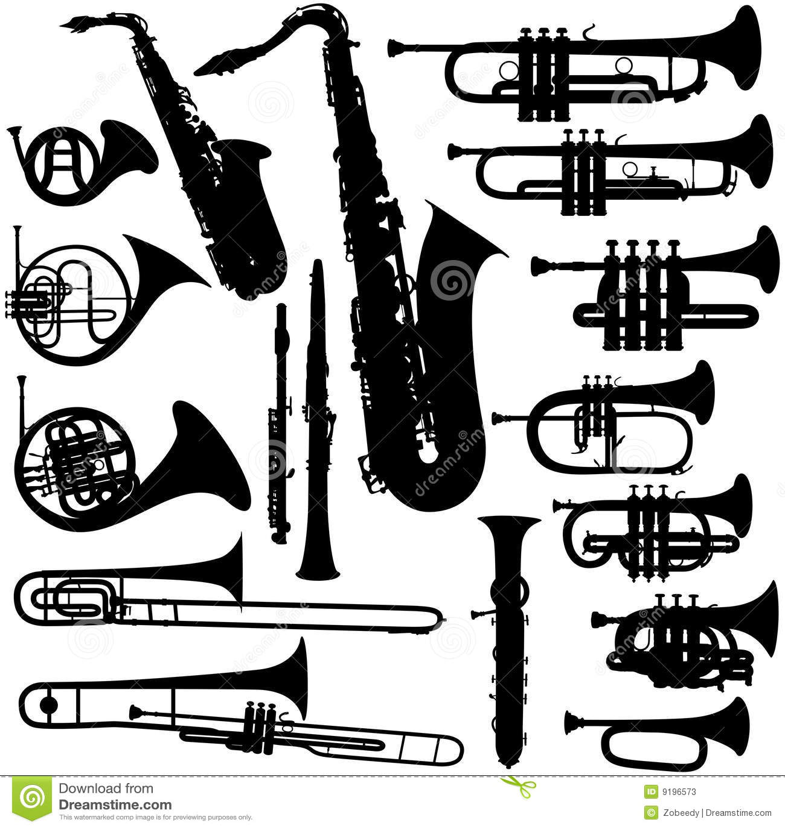 Musikinstrumente - Messing