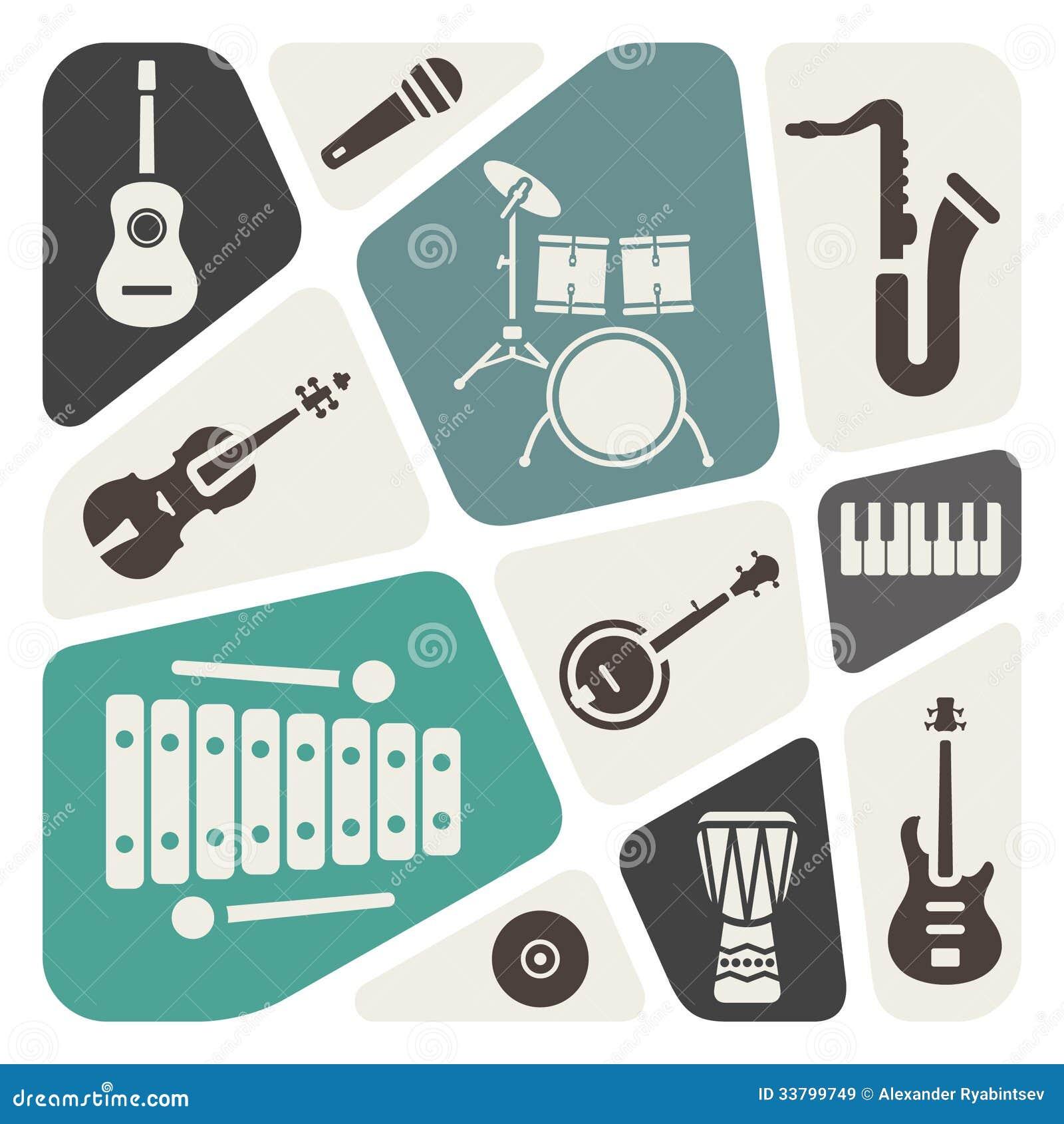 Musikinstrumentsymboler