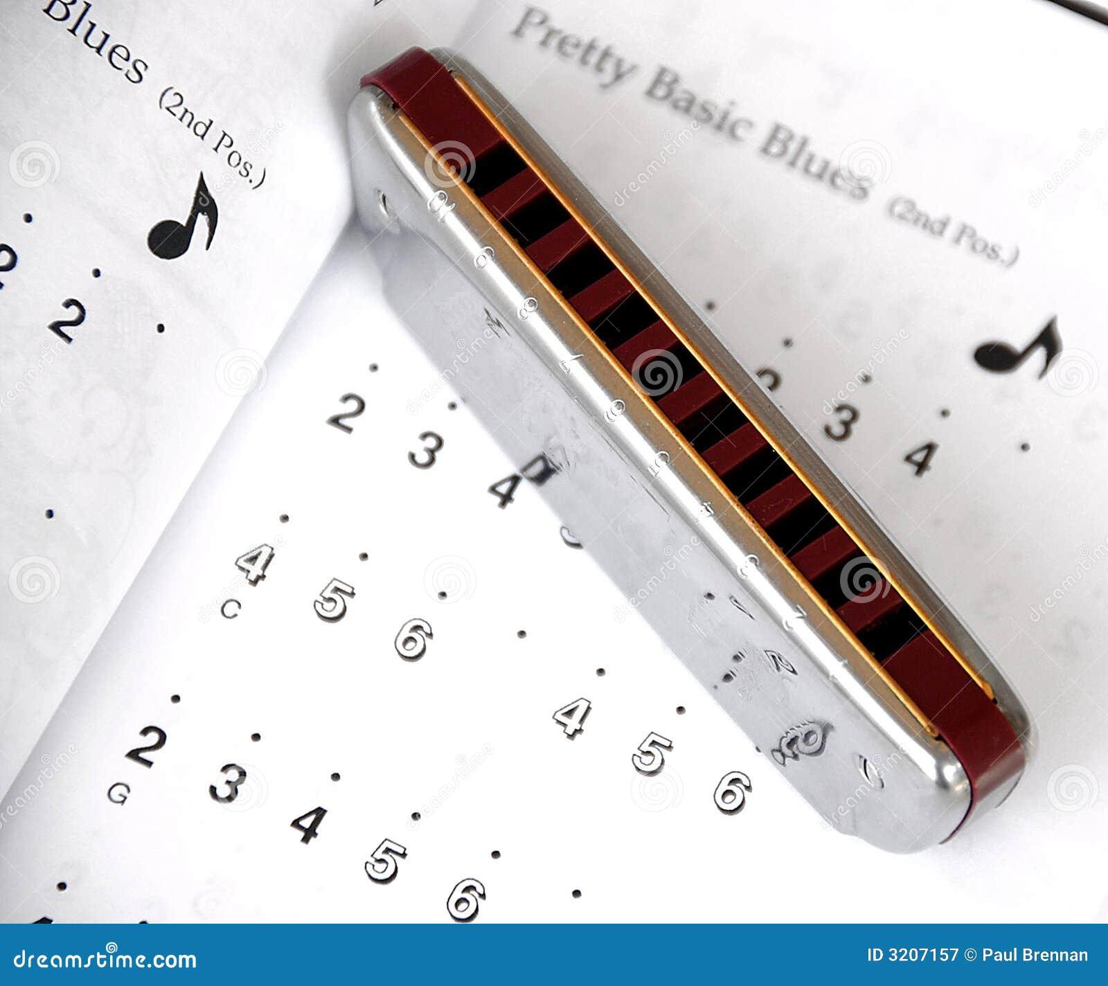Musique d harmonica et de bleus