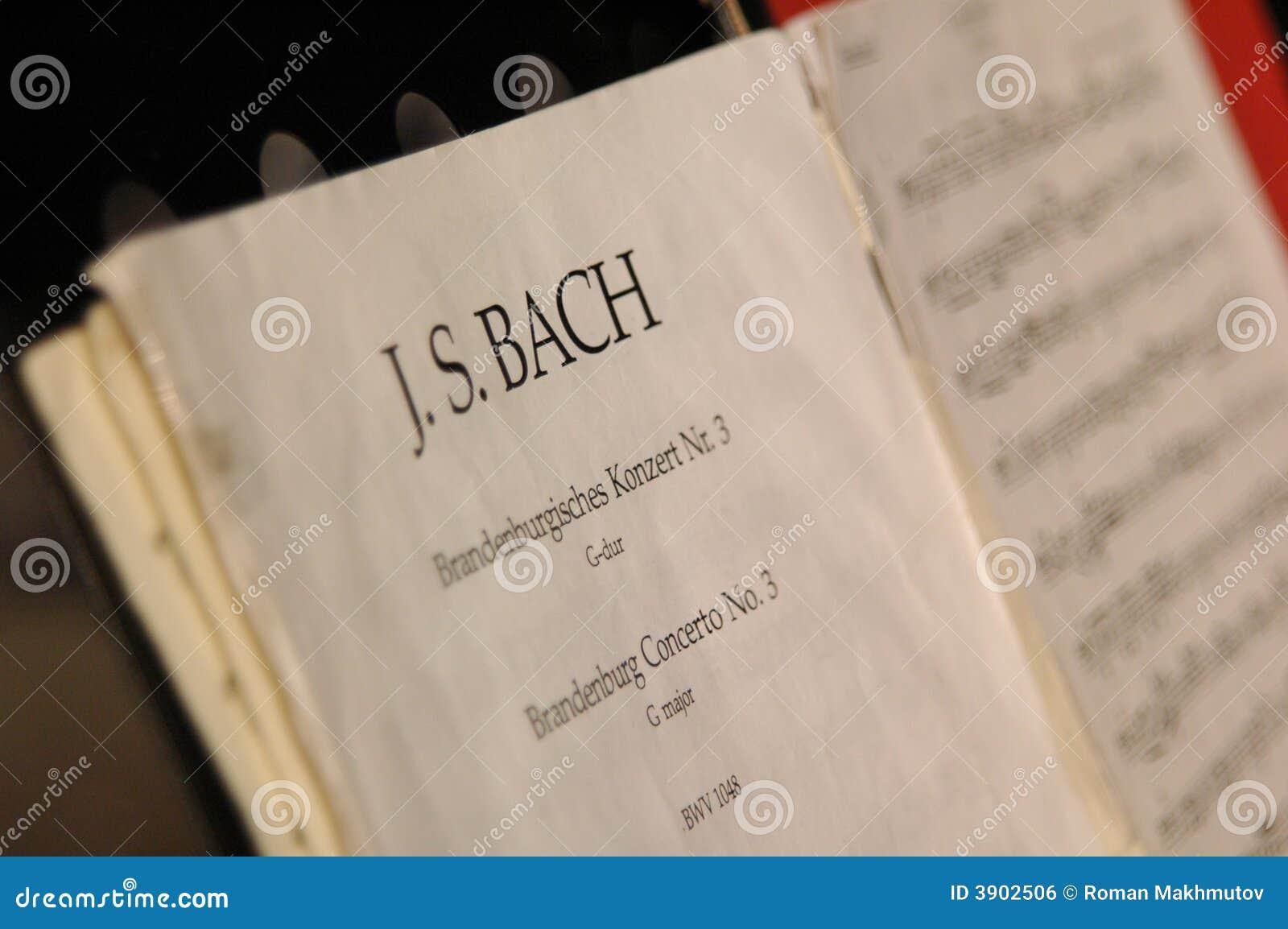 Musique de bach image libre de droits image 3902506 for Bach musique de chambre