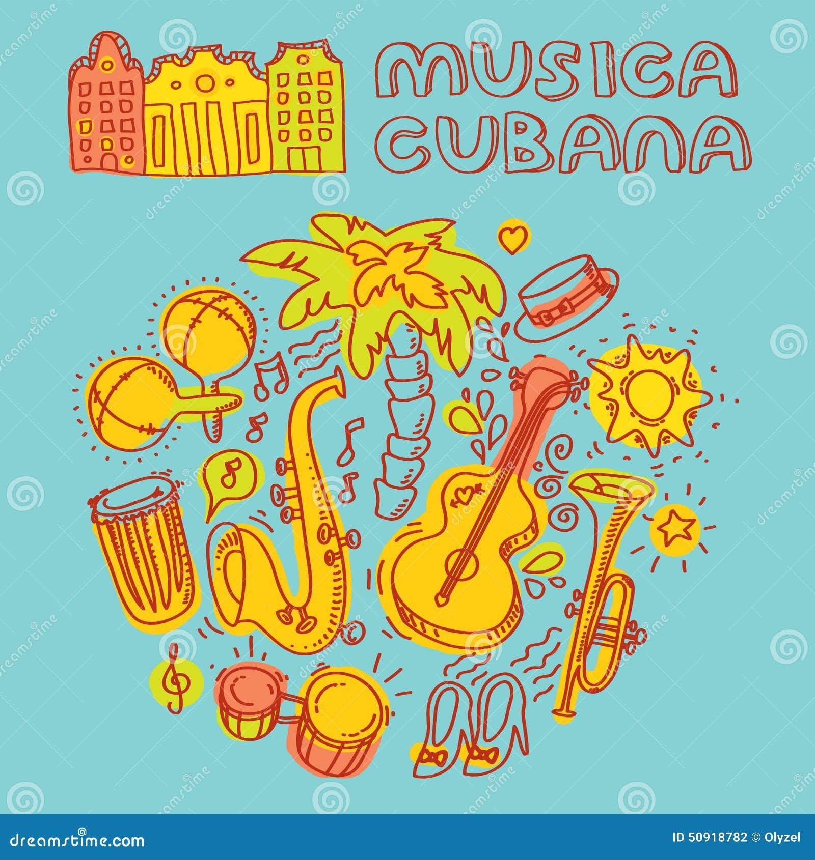 Musique de salsa et illustration de danse avec des for Musique barre danse classique gratuite