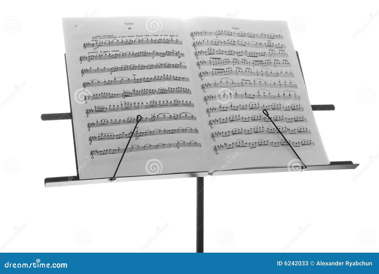 musique en m tal de bureau de livre noir image stock image du papier musique 6242033. Black Bedroom Furniture Sets. Home Design Ideas