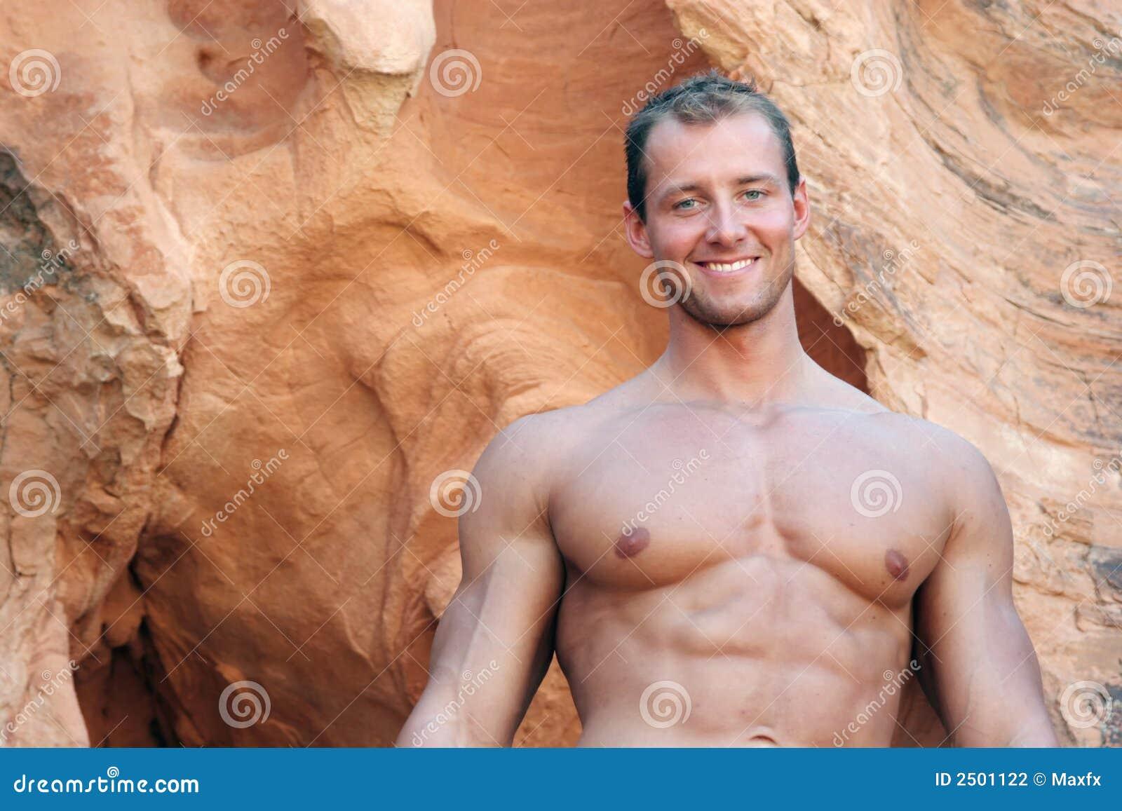Muskulös idrotts- man