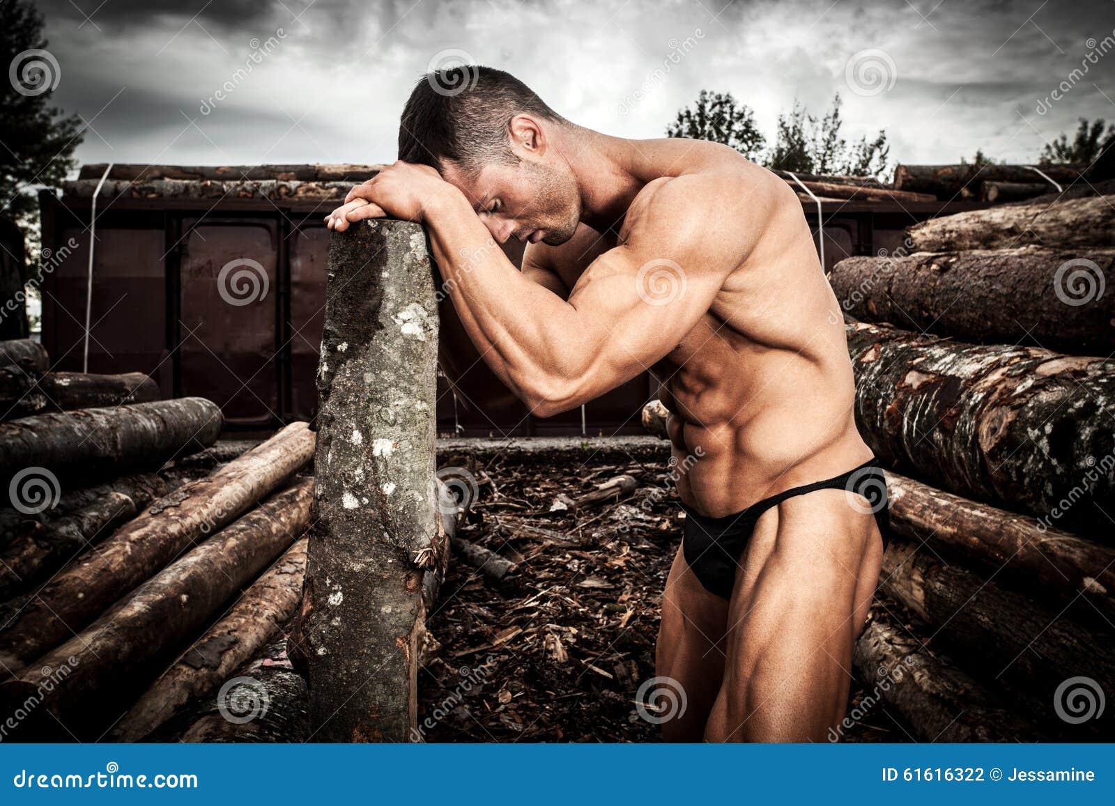 Muskulöst starkt för man
