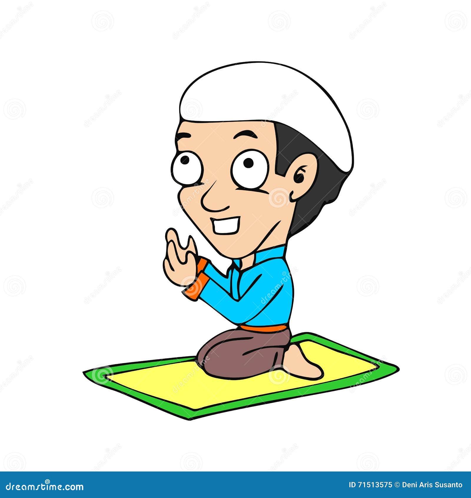 Gambar Kartun Berdoa Muslim Aliansi Kartun