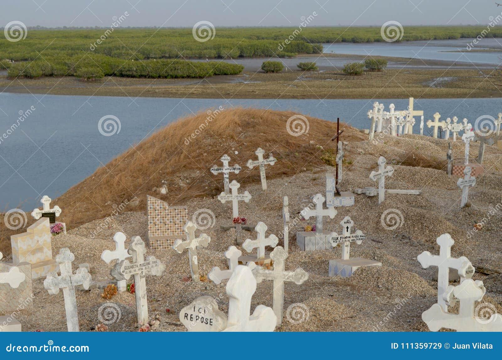 Muslim And Christian Graveyard In Joal-Fadiouth, Petite Côte