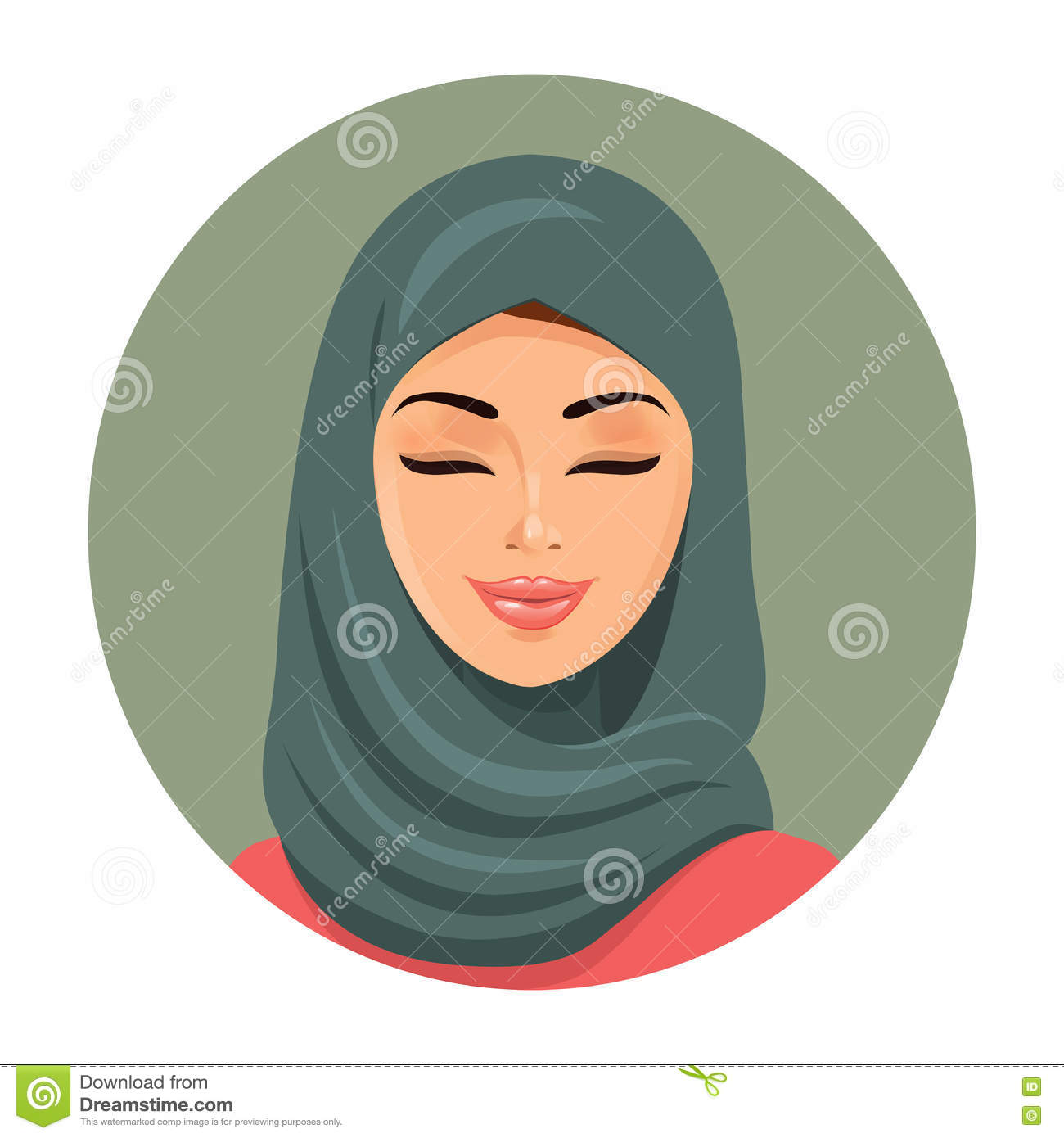 Traditional Muslim Woman
