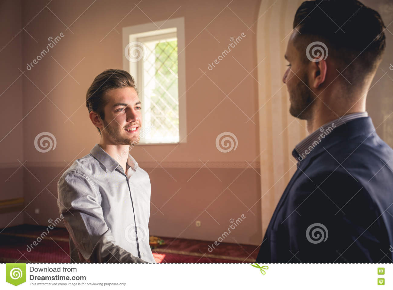 Muslim Greeting Stock Image Image Of Muslim Islam Peace 78322103