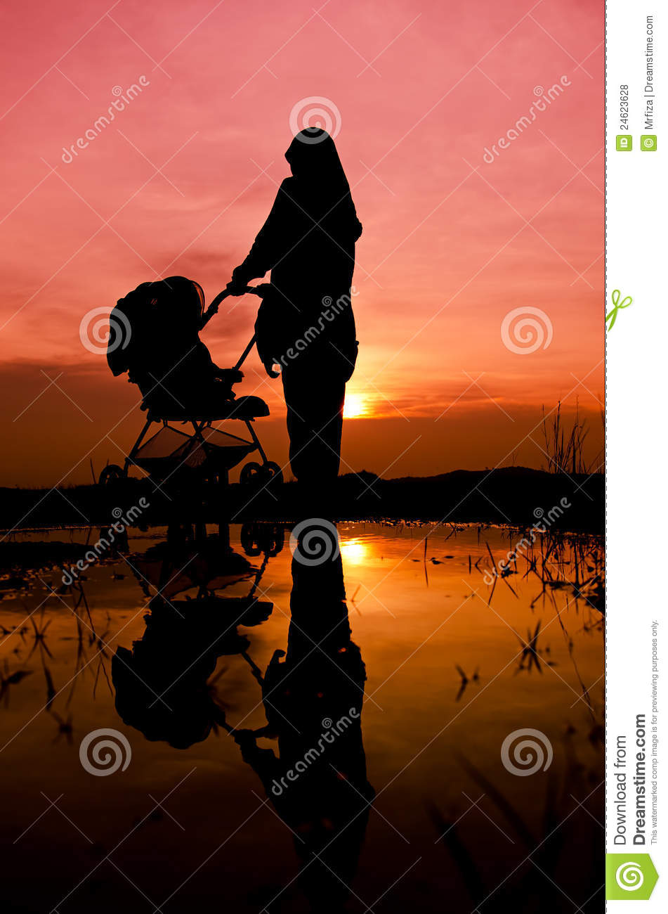 Muslim Mother And Baby Stock Photo. Image Of Daughter