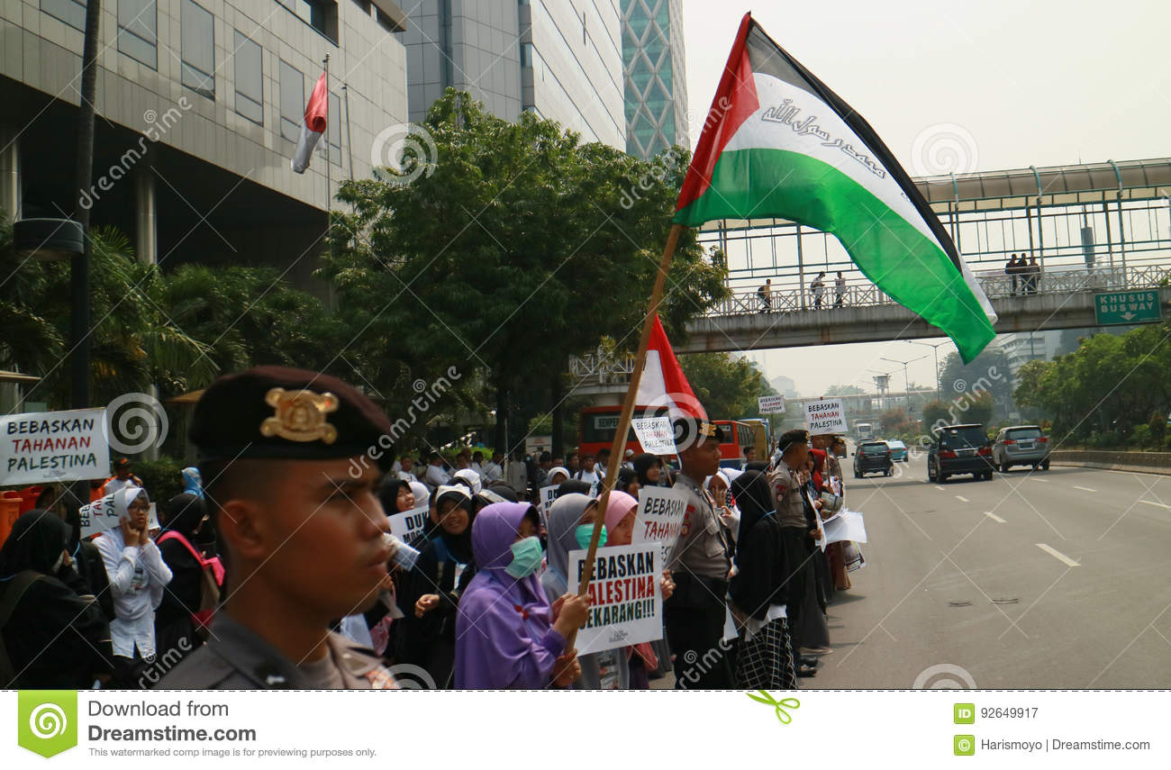 Muslim Protesters editorial photography  Image of jakarta