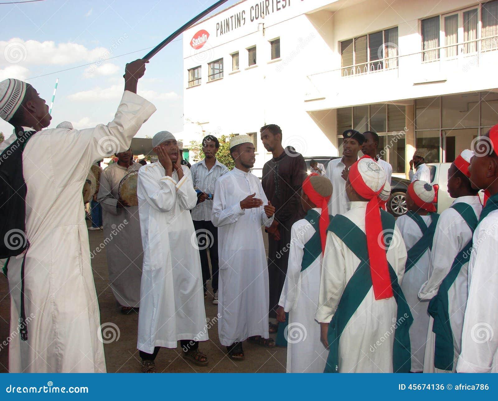 Muslim Qasida Group, Milad Un Nabi Celebration Editorial