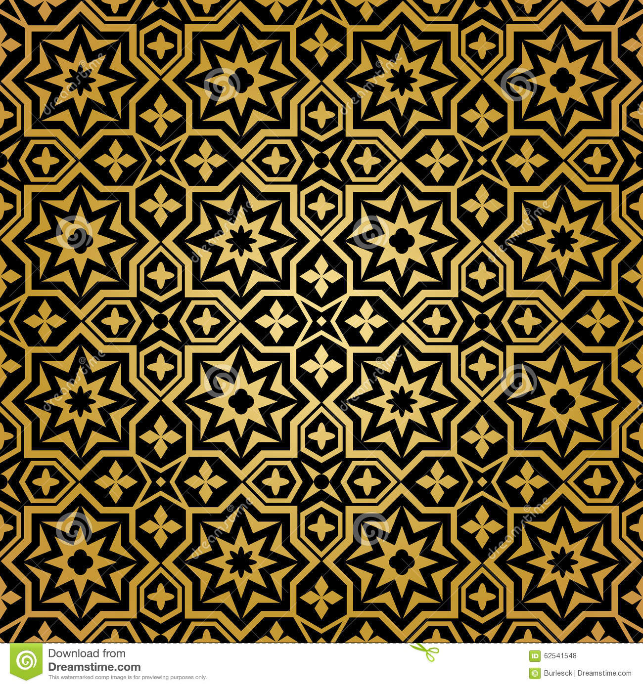 Muslim seamless pattern. Background ornament, islamic abstract design ...