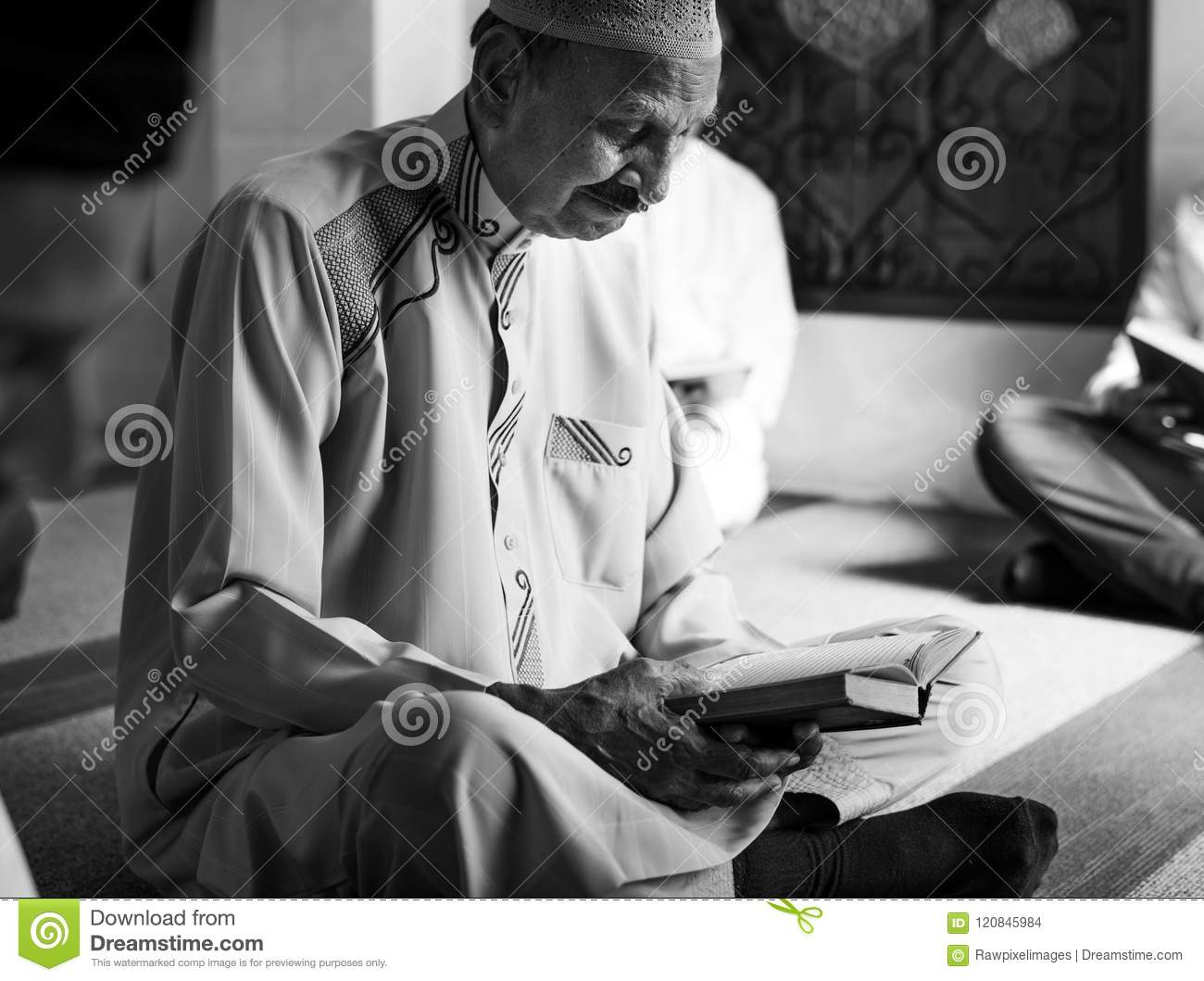 Muslims Reading From The Quran Stock Photo - Image of person