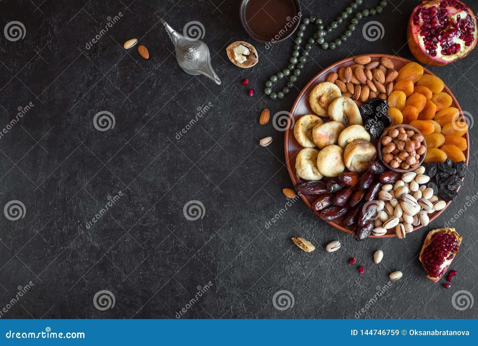 Muslimsk Iftar mat