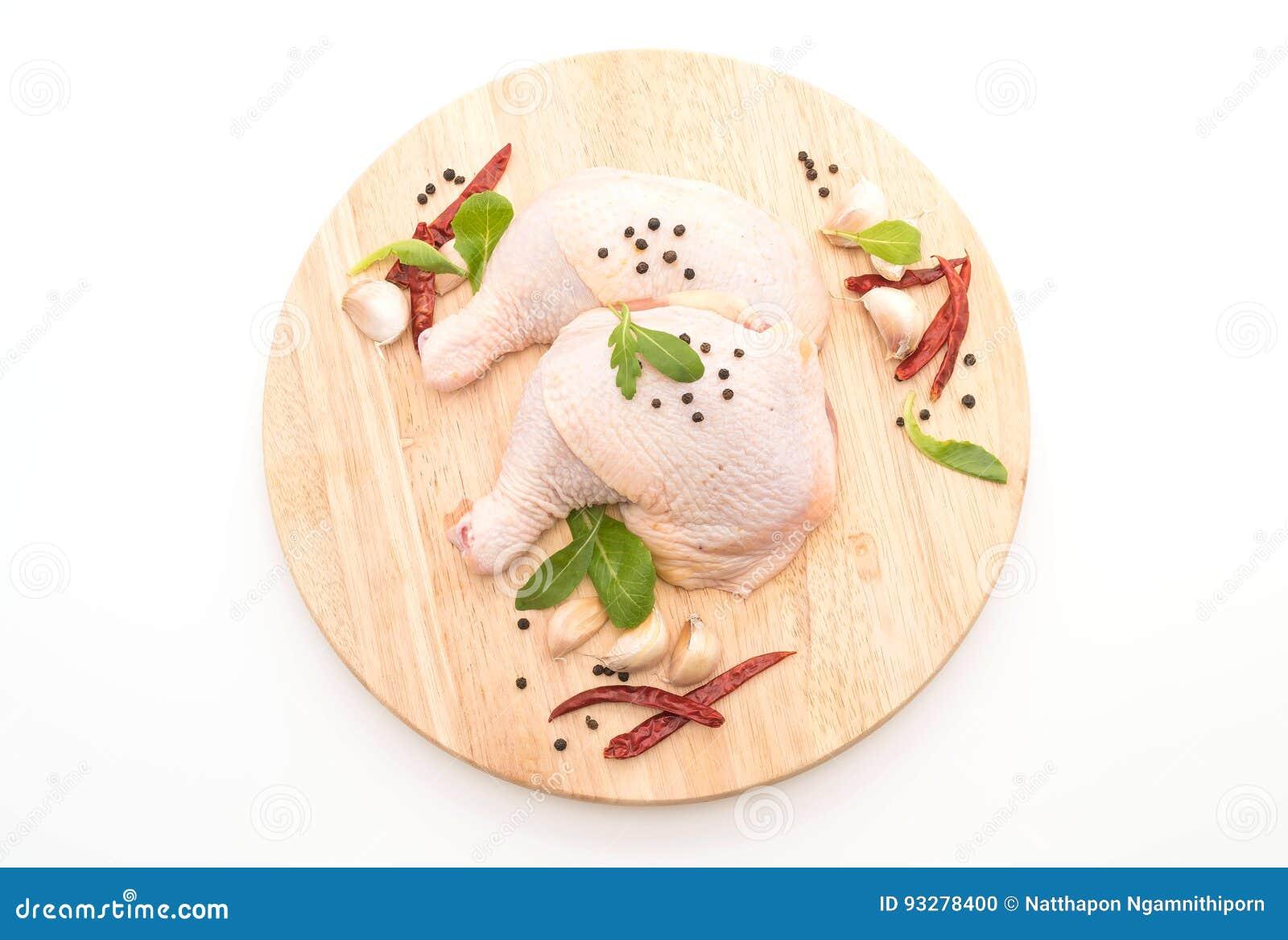 Muslo del pollo