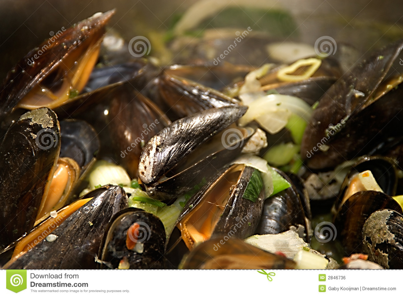 how to catch mussels in the sea