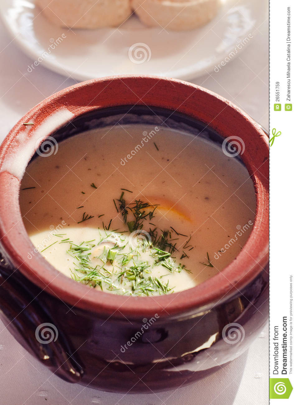 Mussels Soup Royalty Free Stock Images - Image: 26551759
