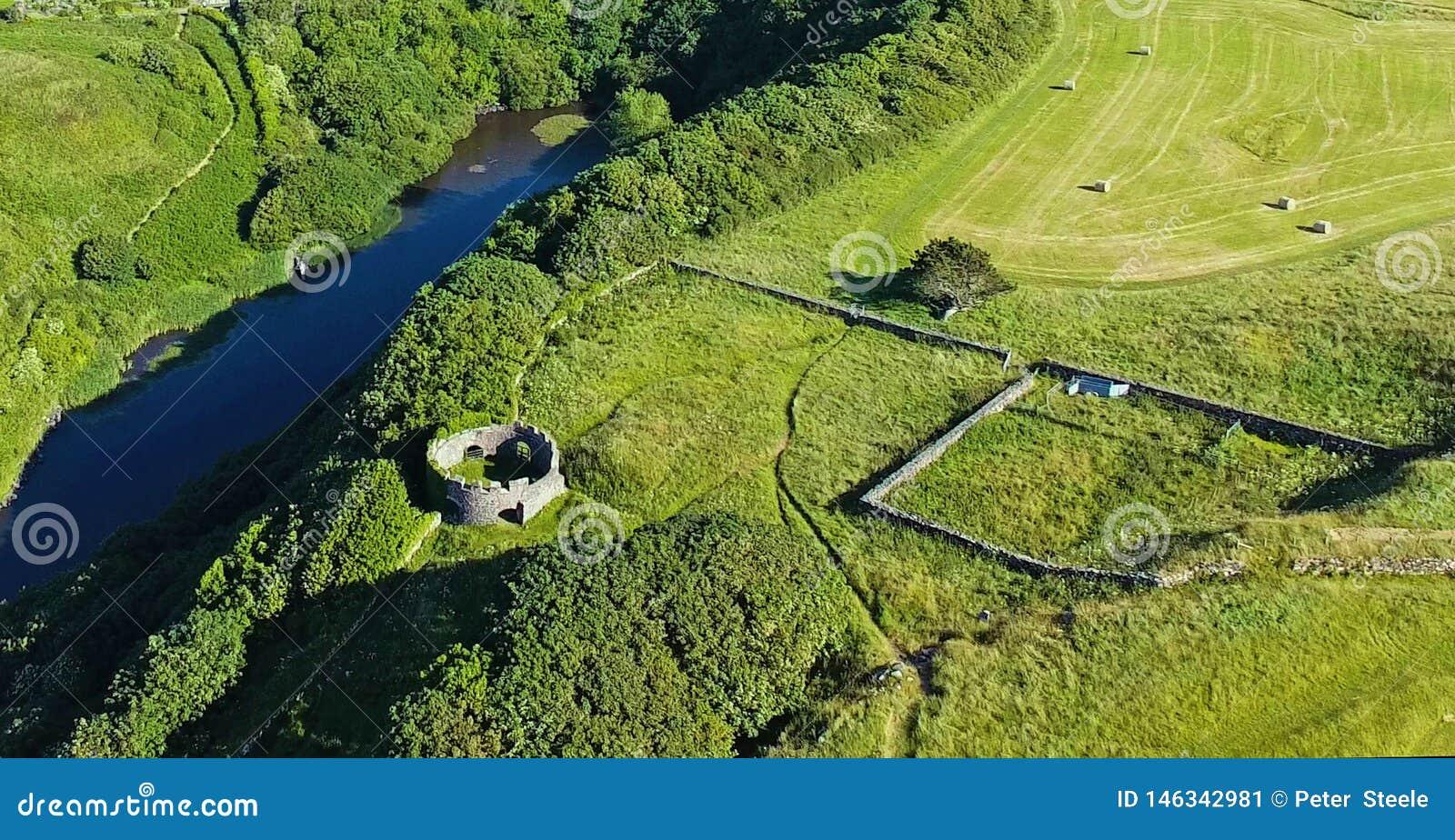 Mussenden-Tempel und abschüssiger Demesne Coleraine Co Derry Northern Ireland