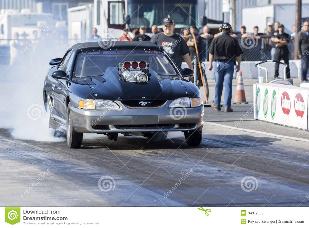 Mustang Drag Car Editorial Stock Photo Image 34372663