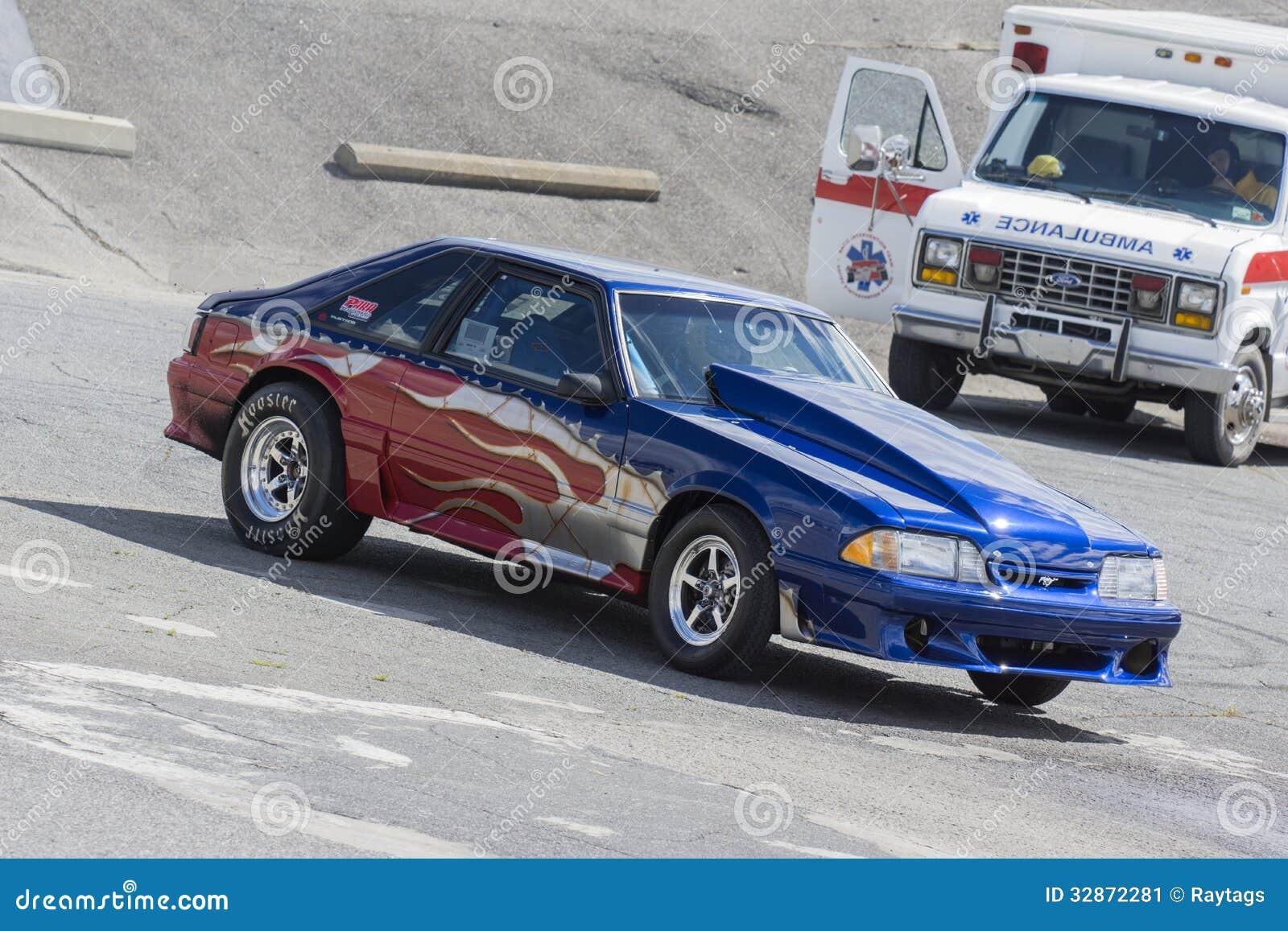 Mustang Drag Car Editorial Photo Image 32872281